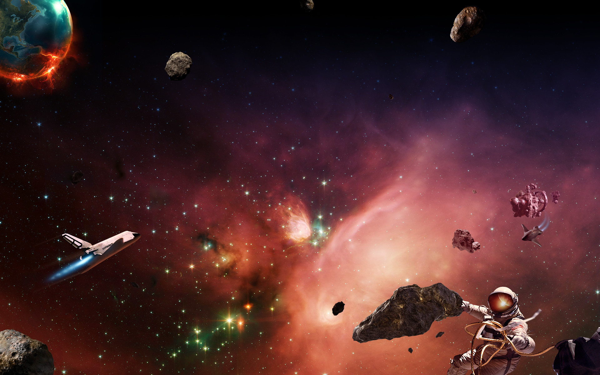 1920x1200 Daily Wallpaper: Space Exploration Begins [Exclusive] | I Like To Waste My  Time
