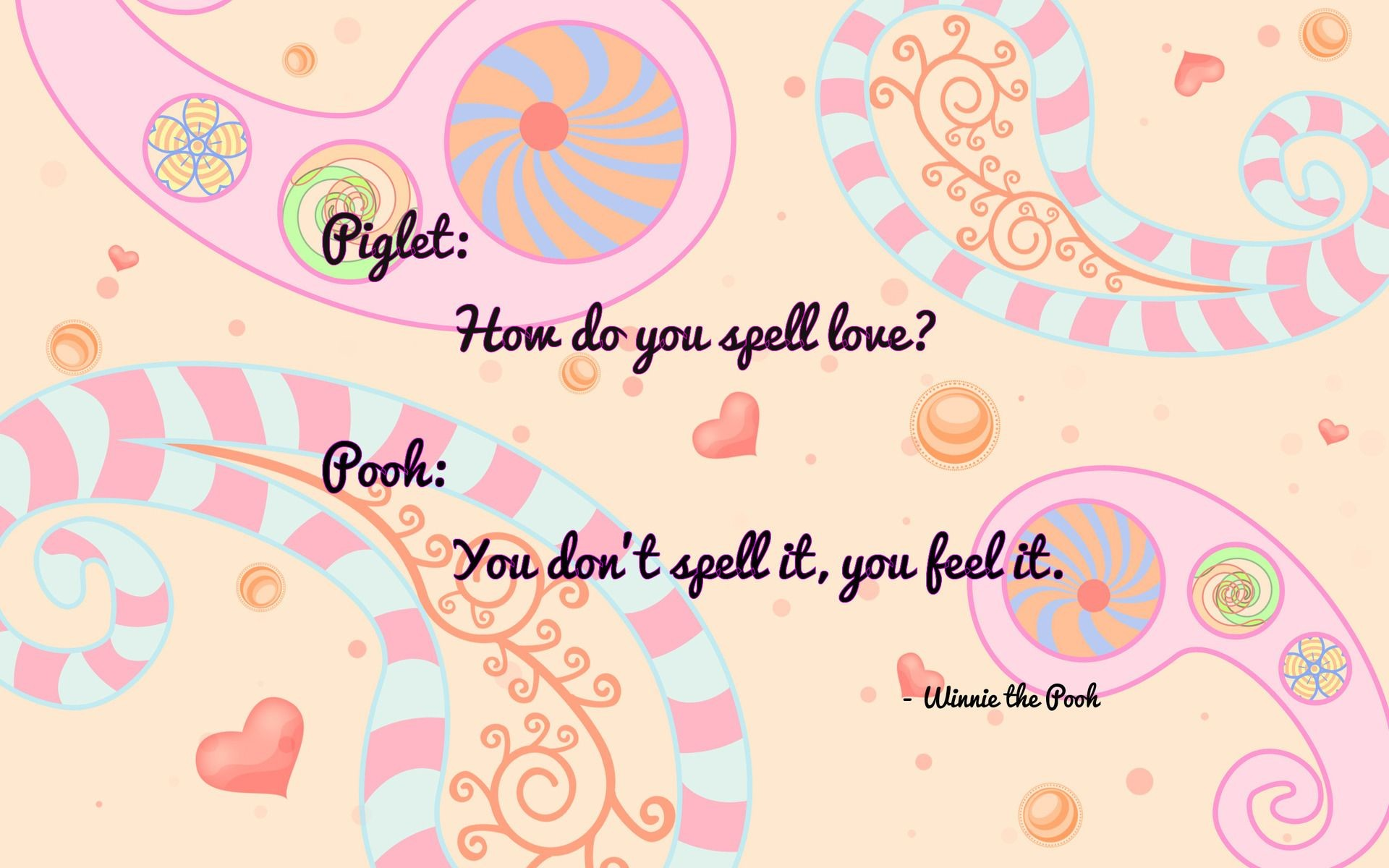 Pooh Love Quotes Winnie The Pooh Wallpaper Quotes  Impremedia