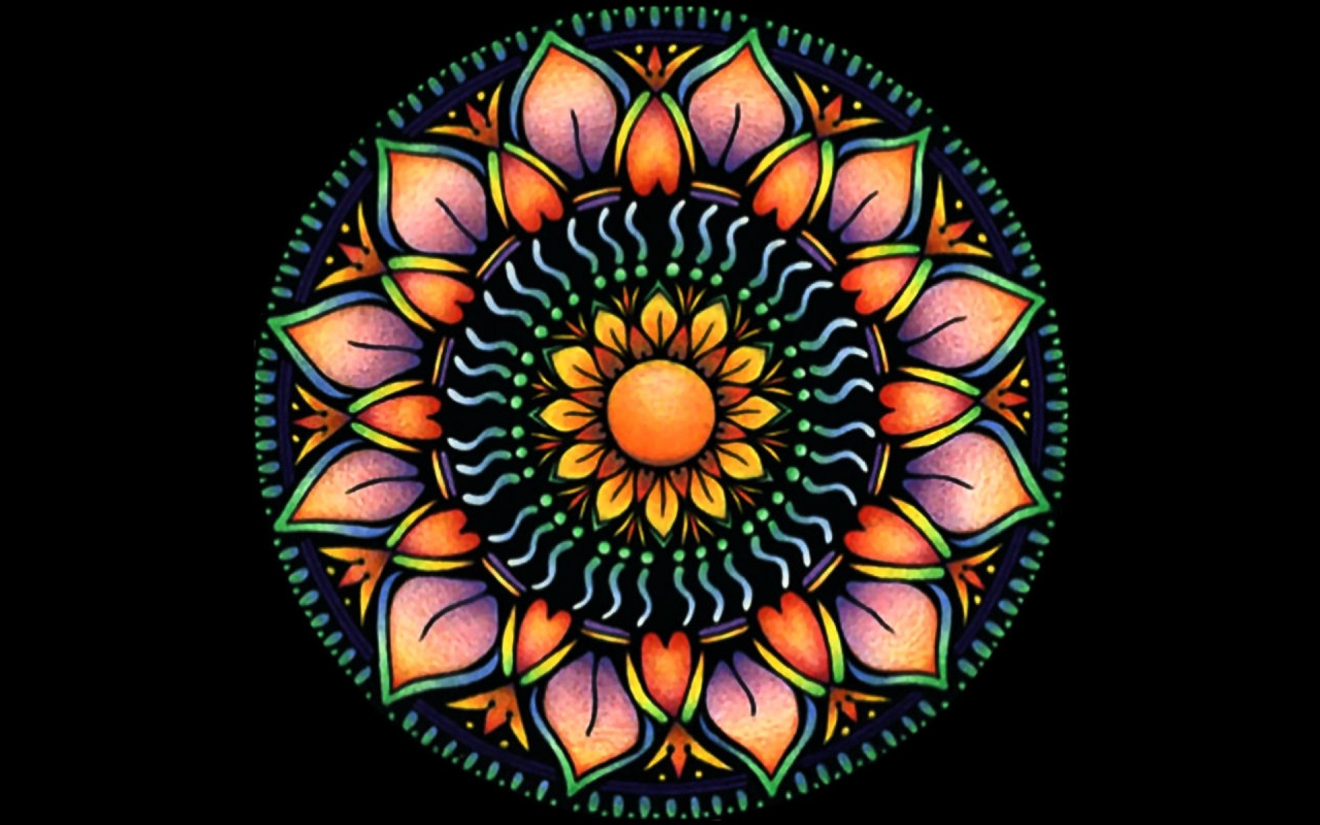 Cool Mandala Para Colorear Cool Mandalas Para Colorear De: Mandala Wallpaper Desktop (61+ Images