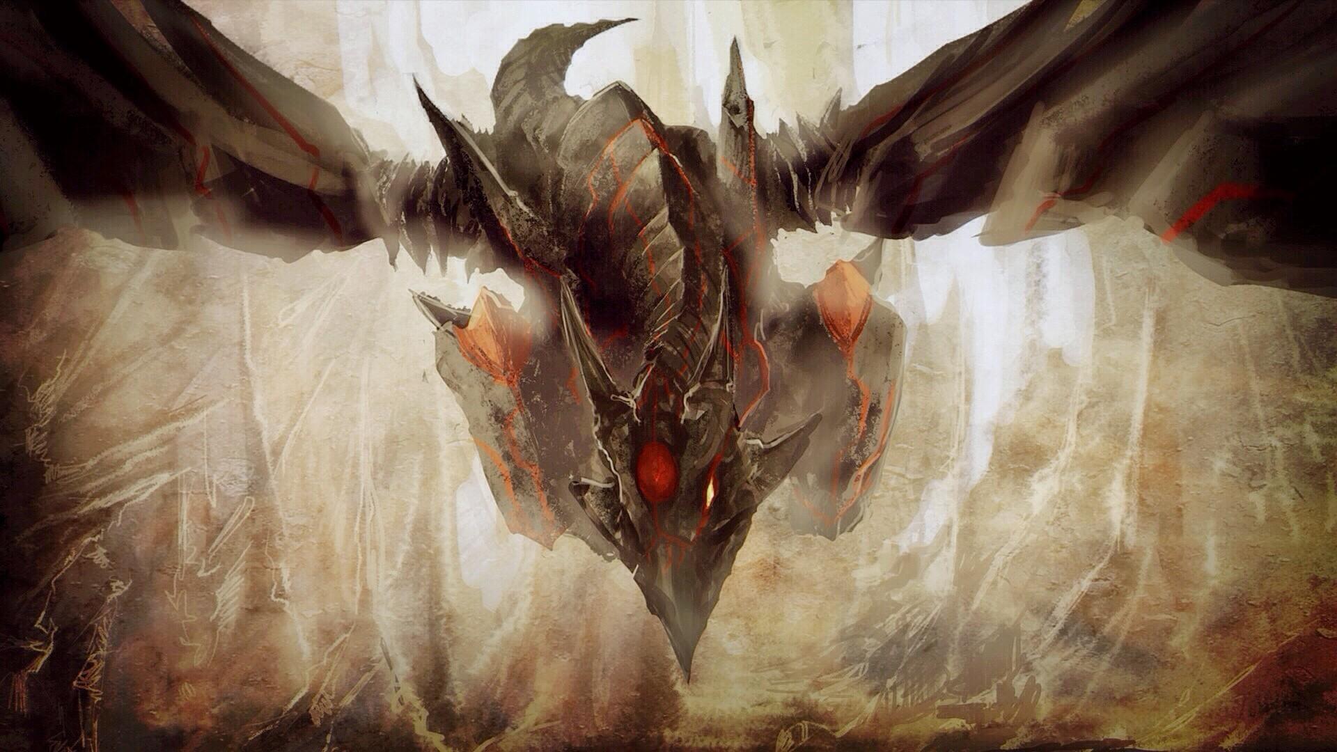Hd black dragon wallpaper