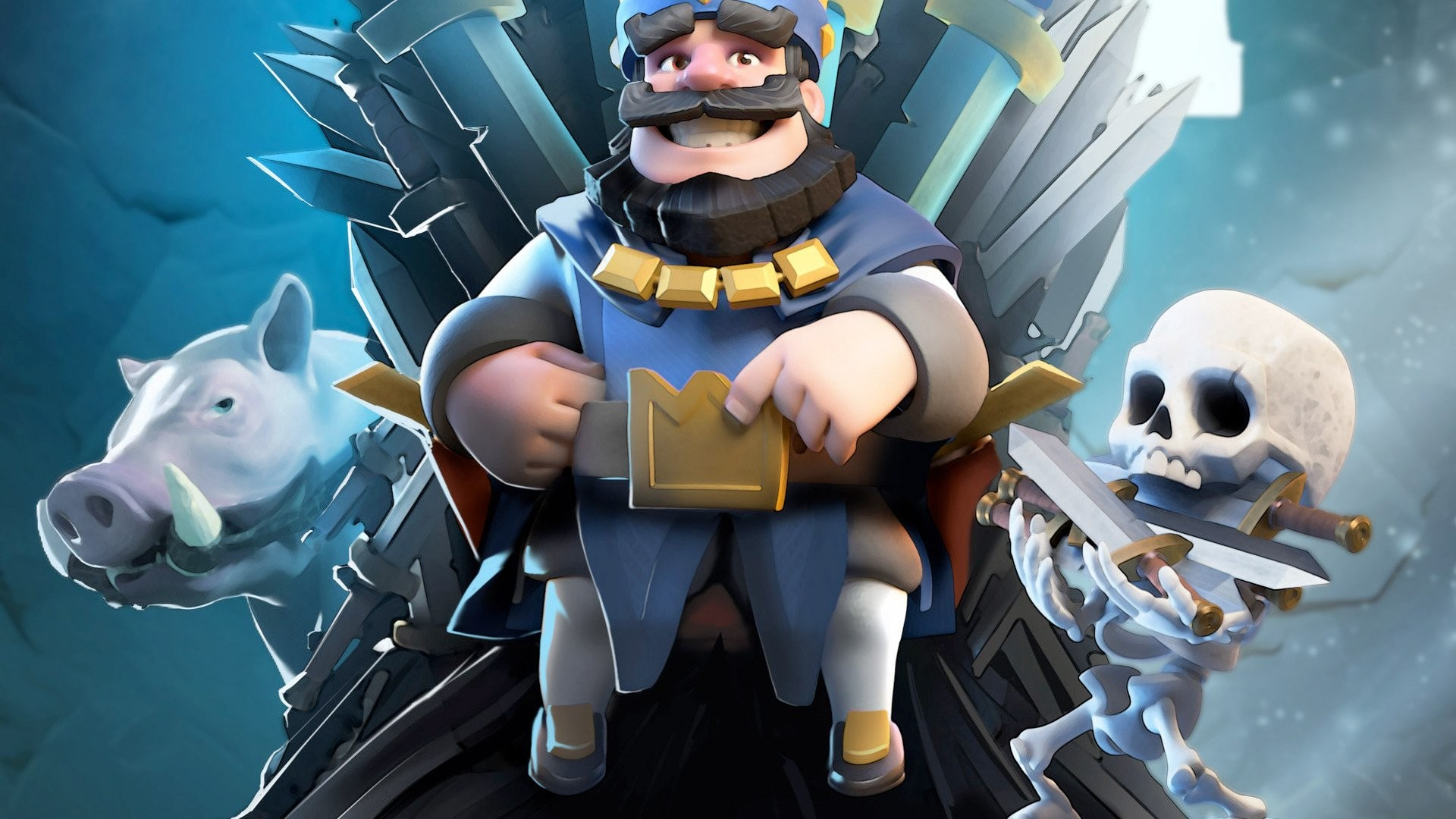 1920x1080 HD Wallpaper | Background ID:856231.  Video Game Clash Royale