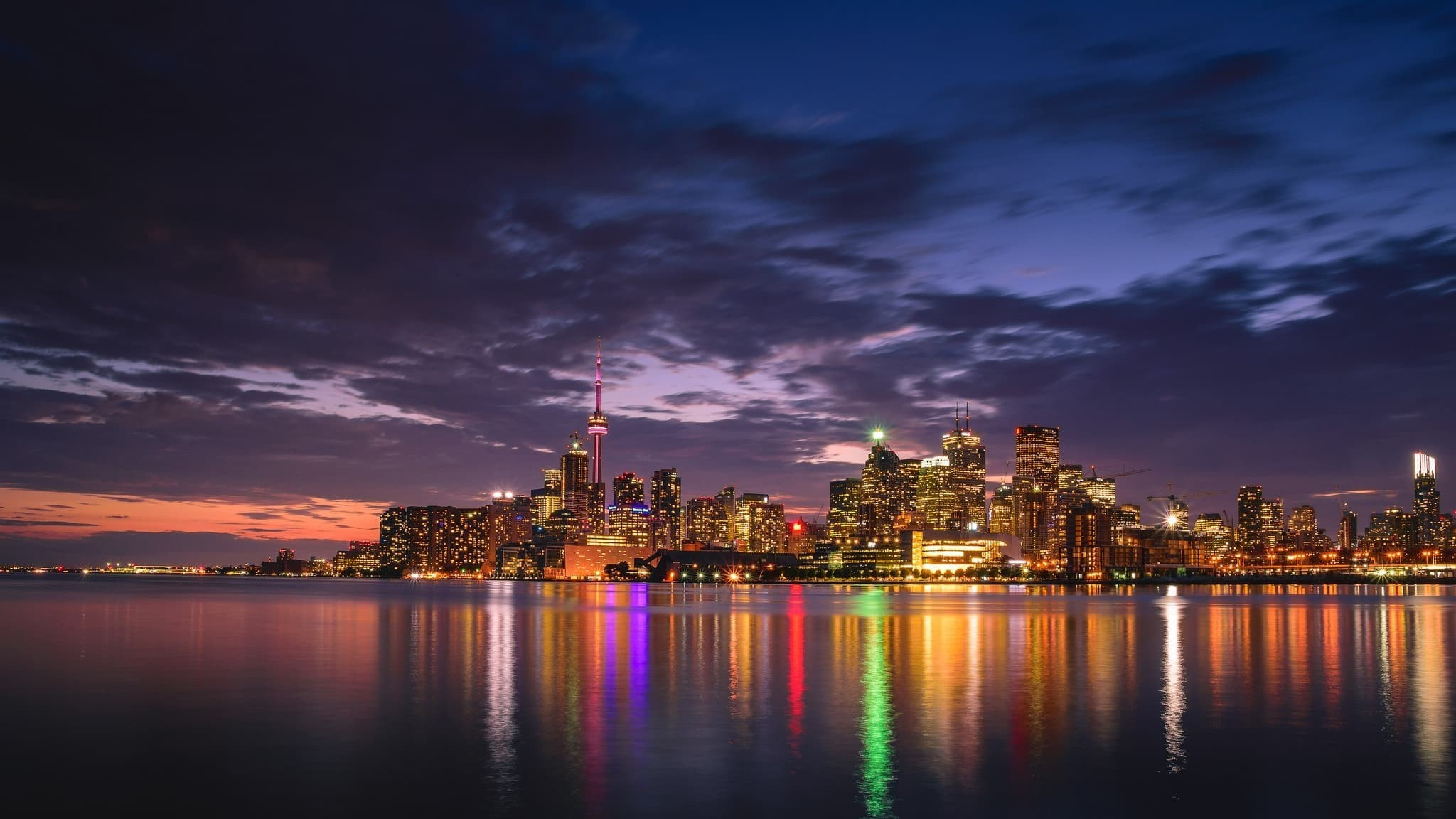2048x1152 Canada Toronto Wallpapers Hd