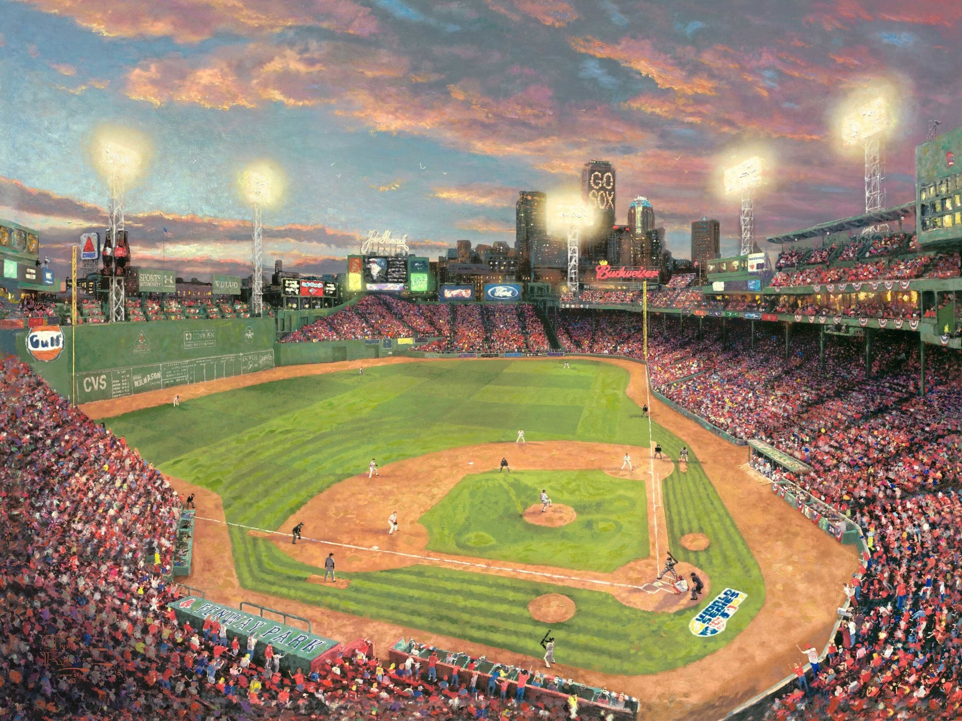 1920x1440 Baseball Stadium Fenway Park Wallpapers