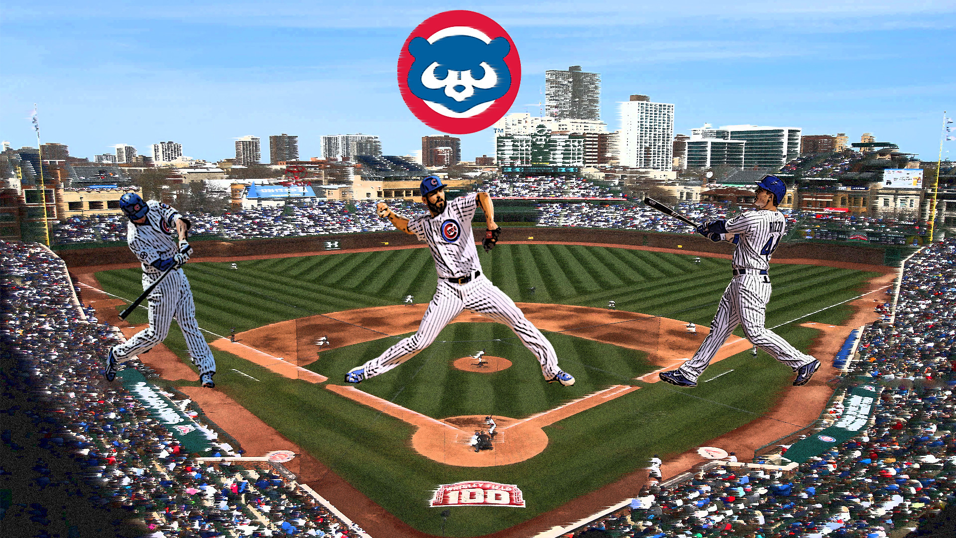 1920x1080 Chicago Cubs Backgrounds | PixelsTalk.Net