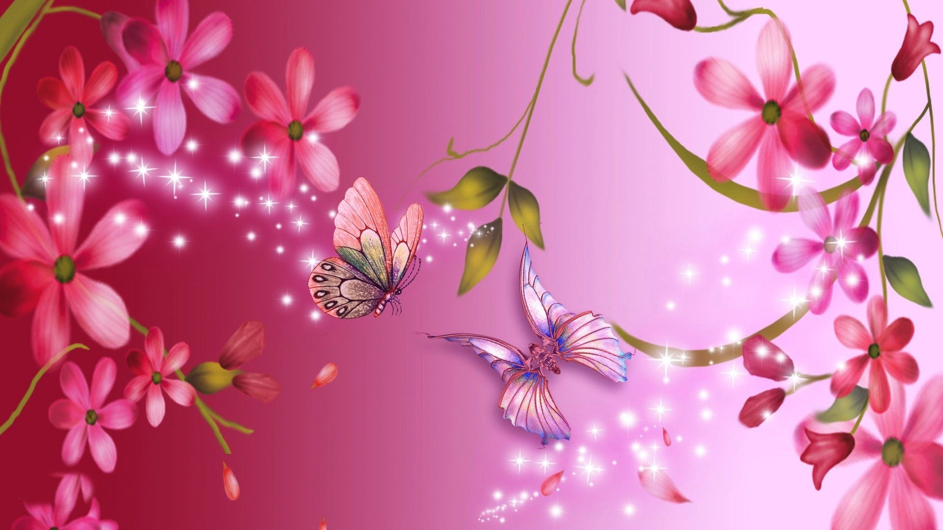 Pink flower wallpaper background 55 images 1920x1080 pink flower wallpapers 1080p mightylinksfo