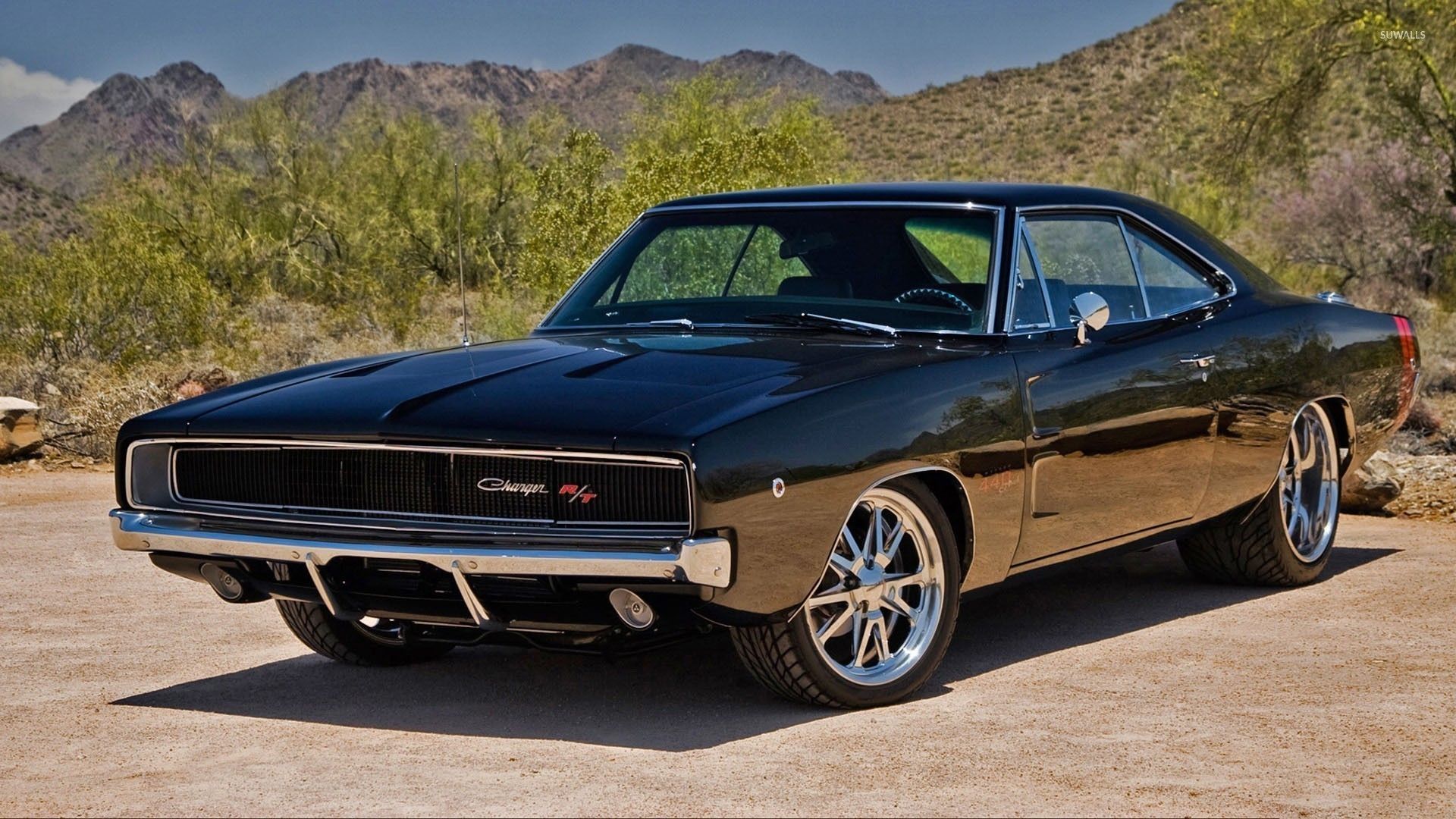 1920x1080 1970 Dodge Charger R/T front side view wallpaper  jpg
