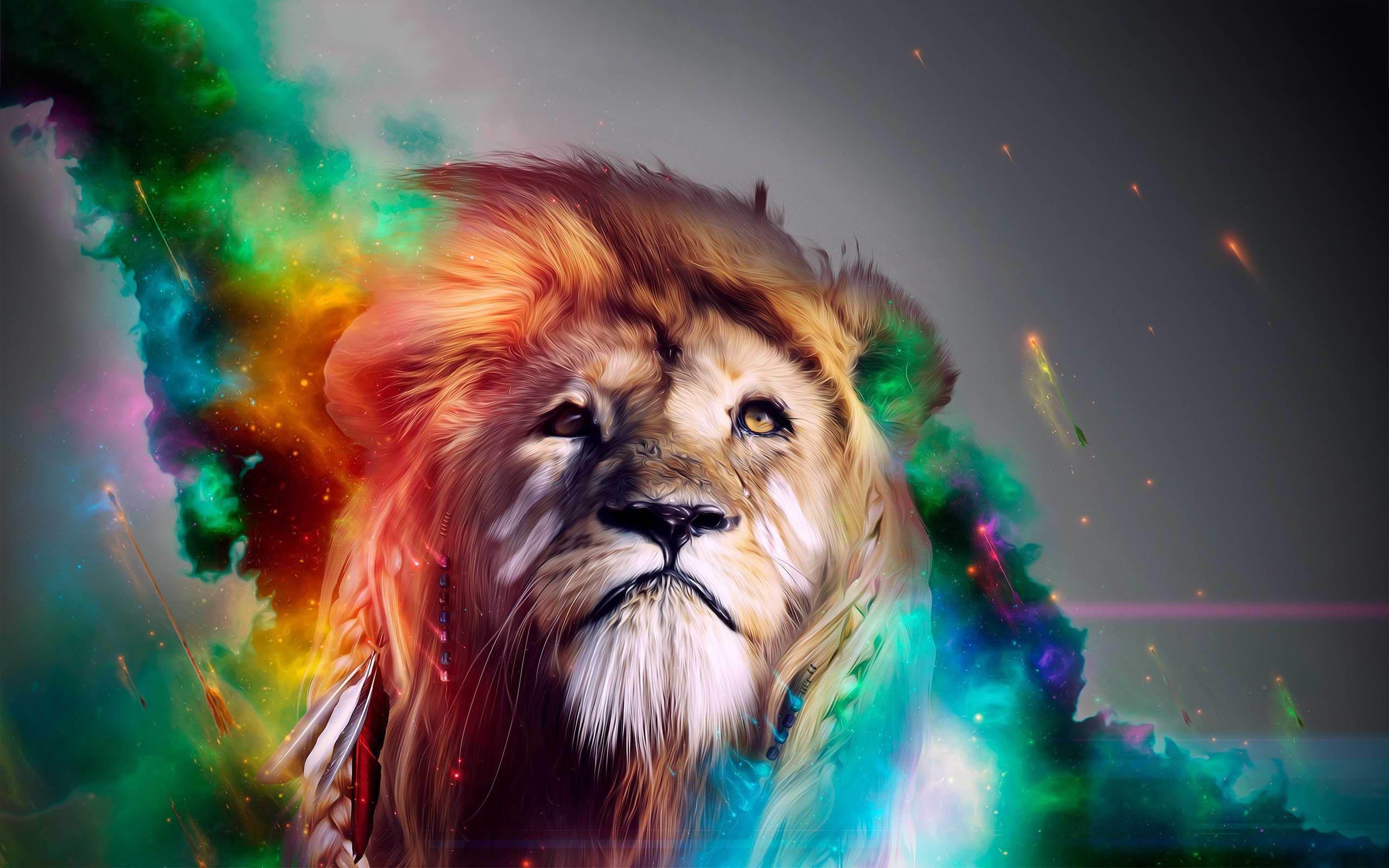 Rainbow Lion Wallpaper 57 Images