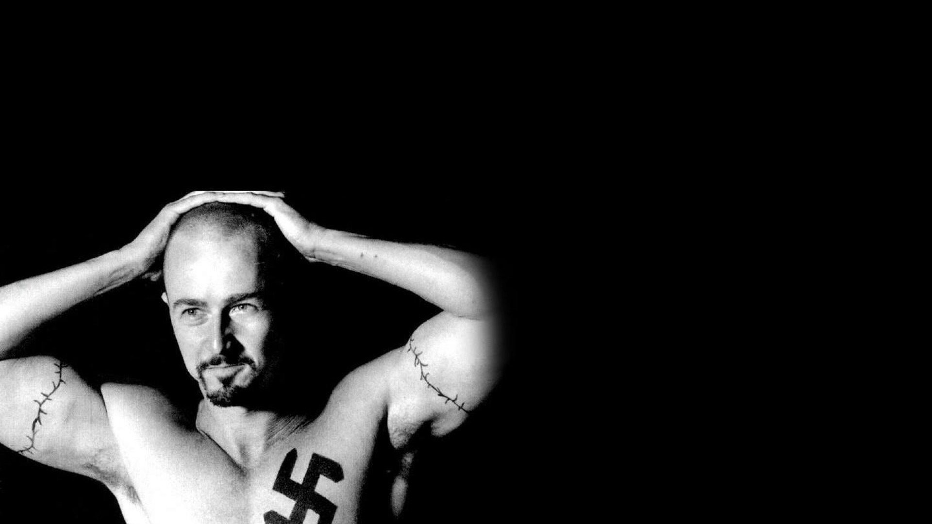 1920x1080 Movie - American History X Ed Norton Nazi Tattoo Wallpaper