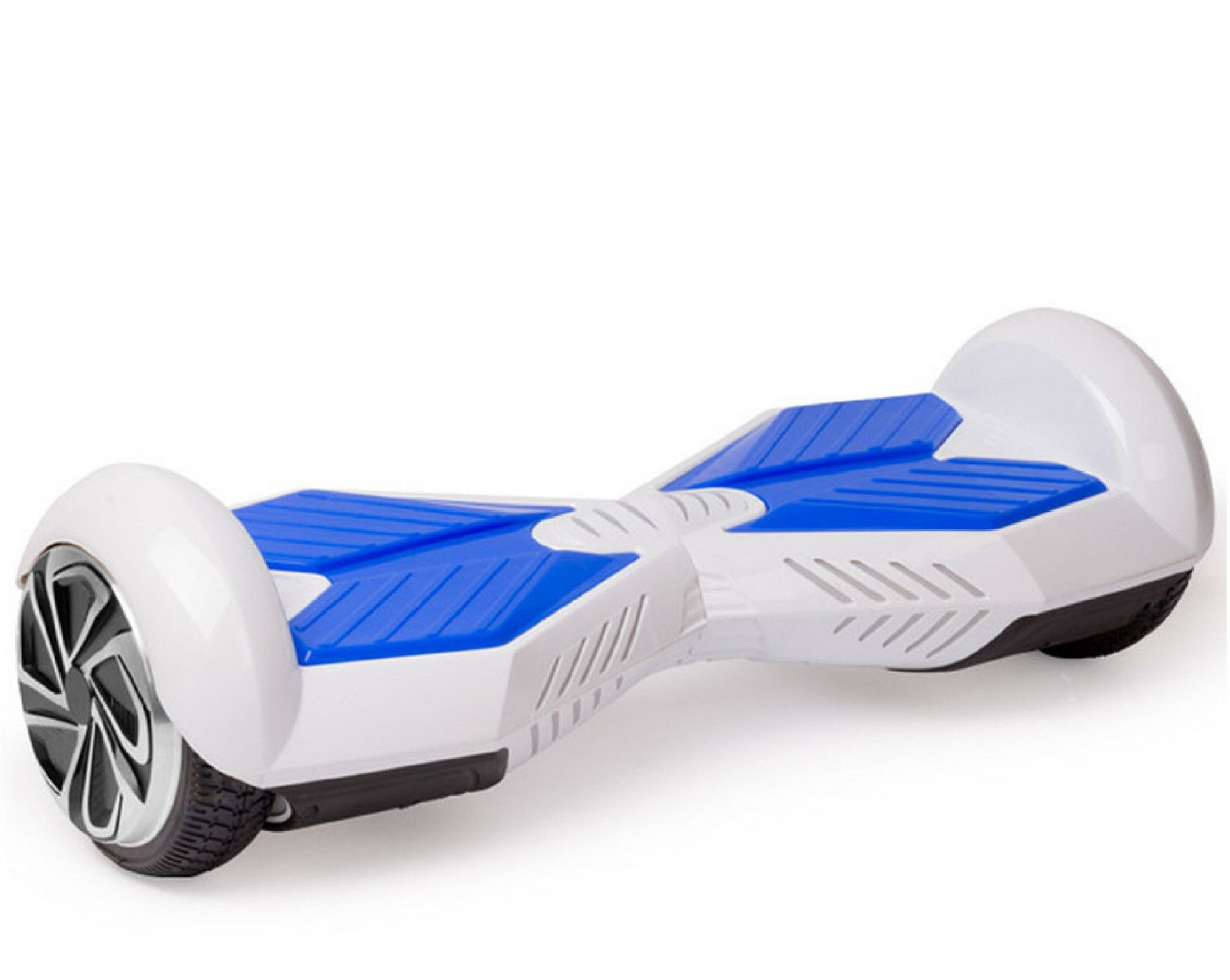 2048x1633 Lamborghini Classic Hoverboard White/Blue Lifetime Warranty