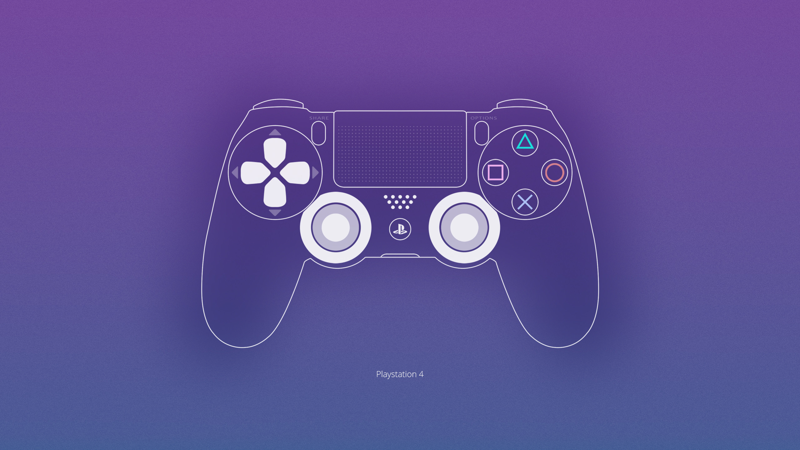 2560x1440 Playstation 4 Wallpaper by ljdesigner