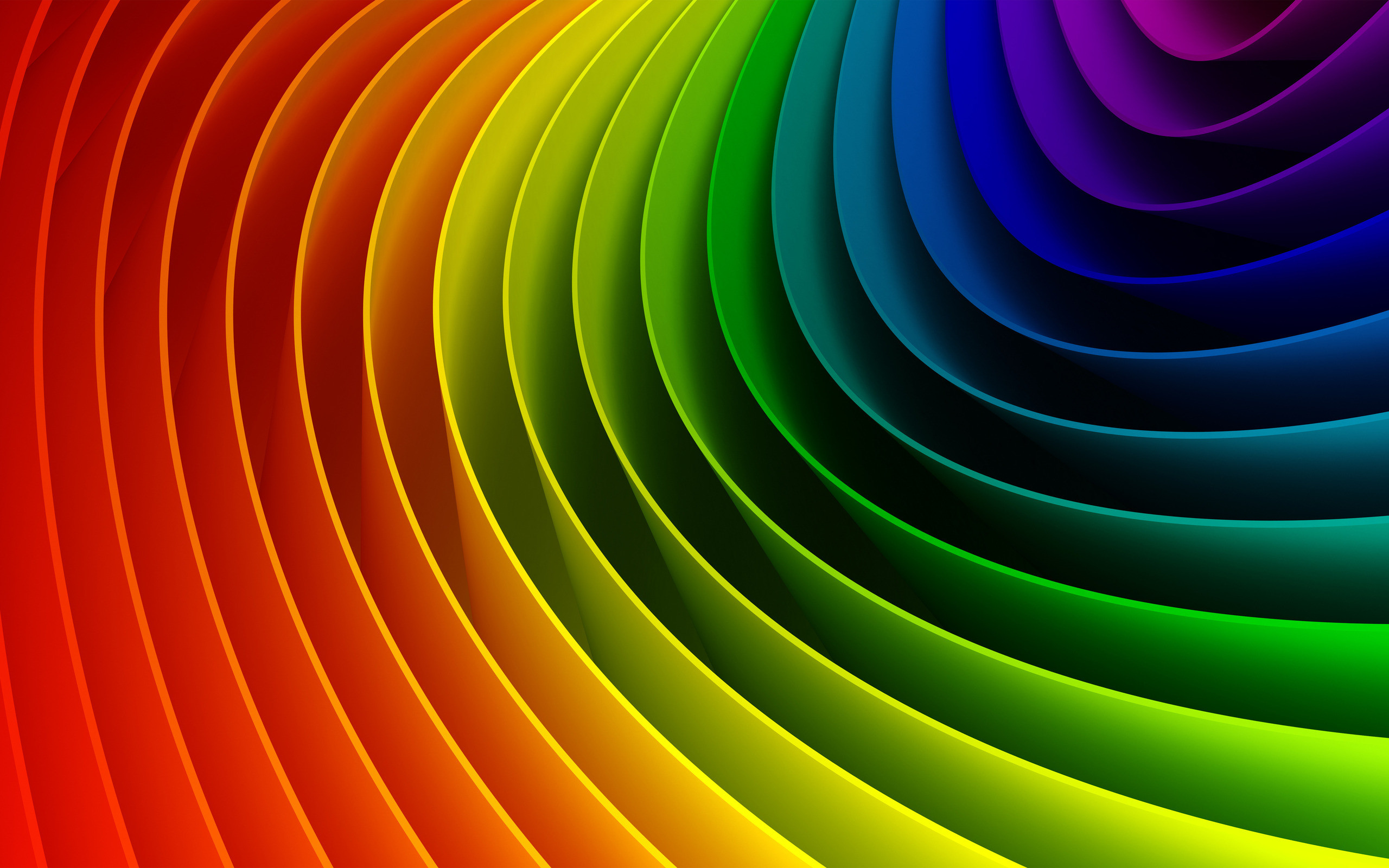 2560x1600 Creative Color Spectrum Wallpaper