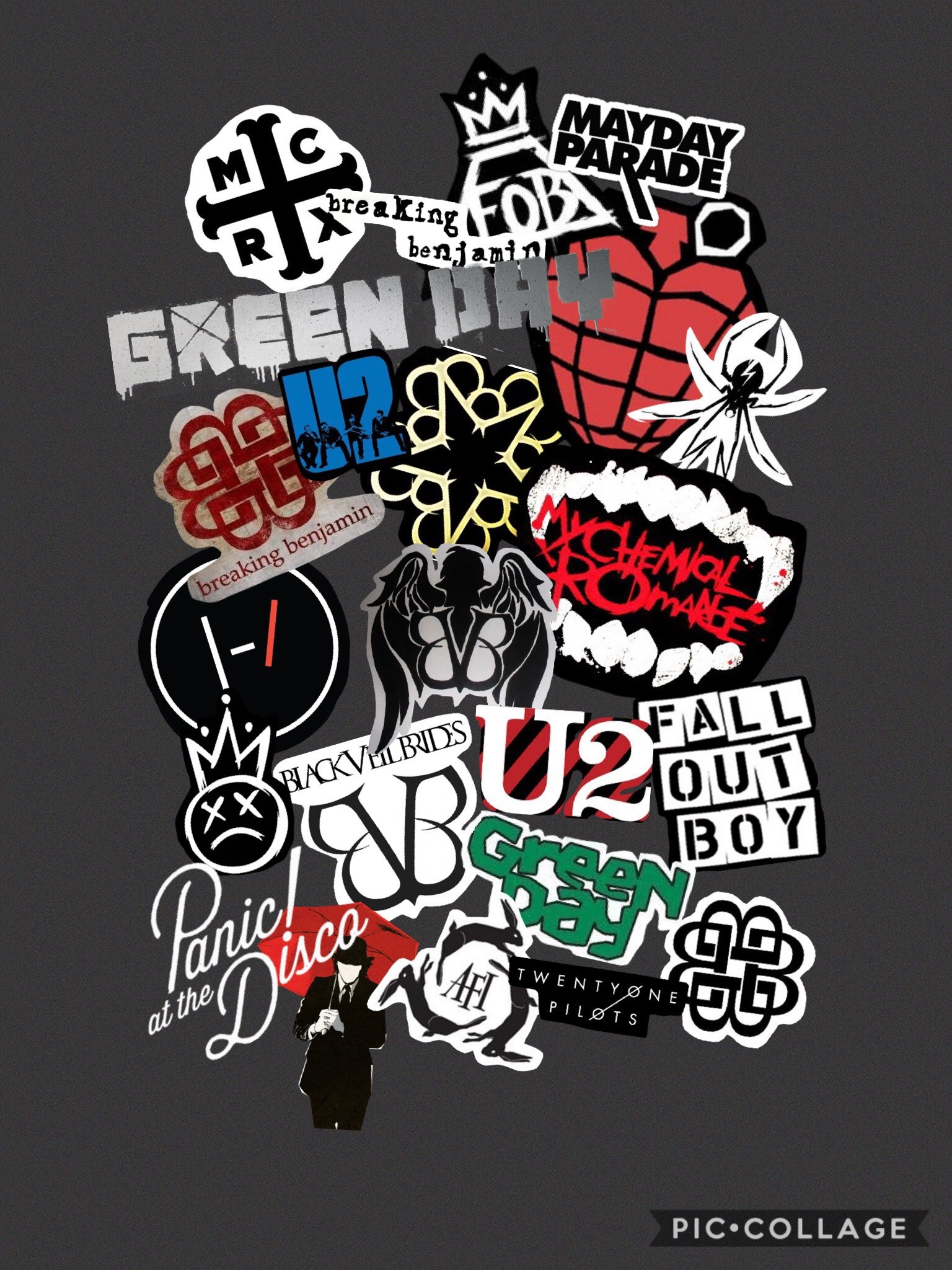 My Chemical Romance Logo Wallpaper 59+ images