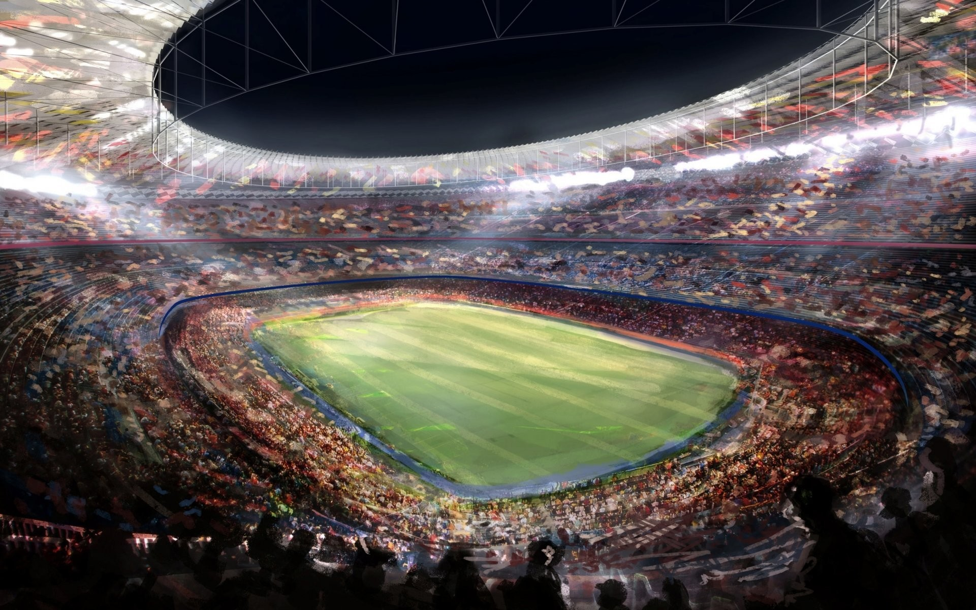 1921x1200 camp nou stadium barcelona picture football