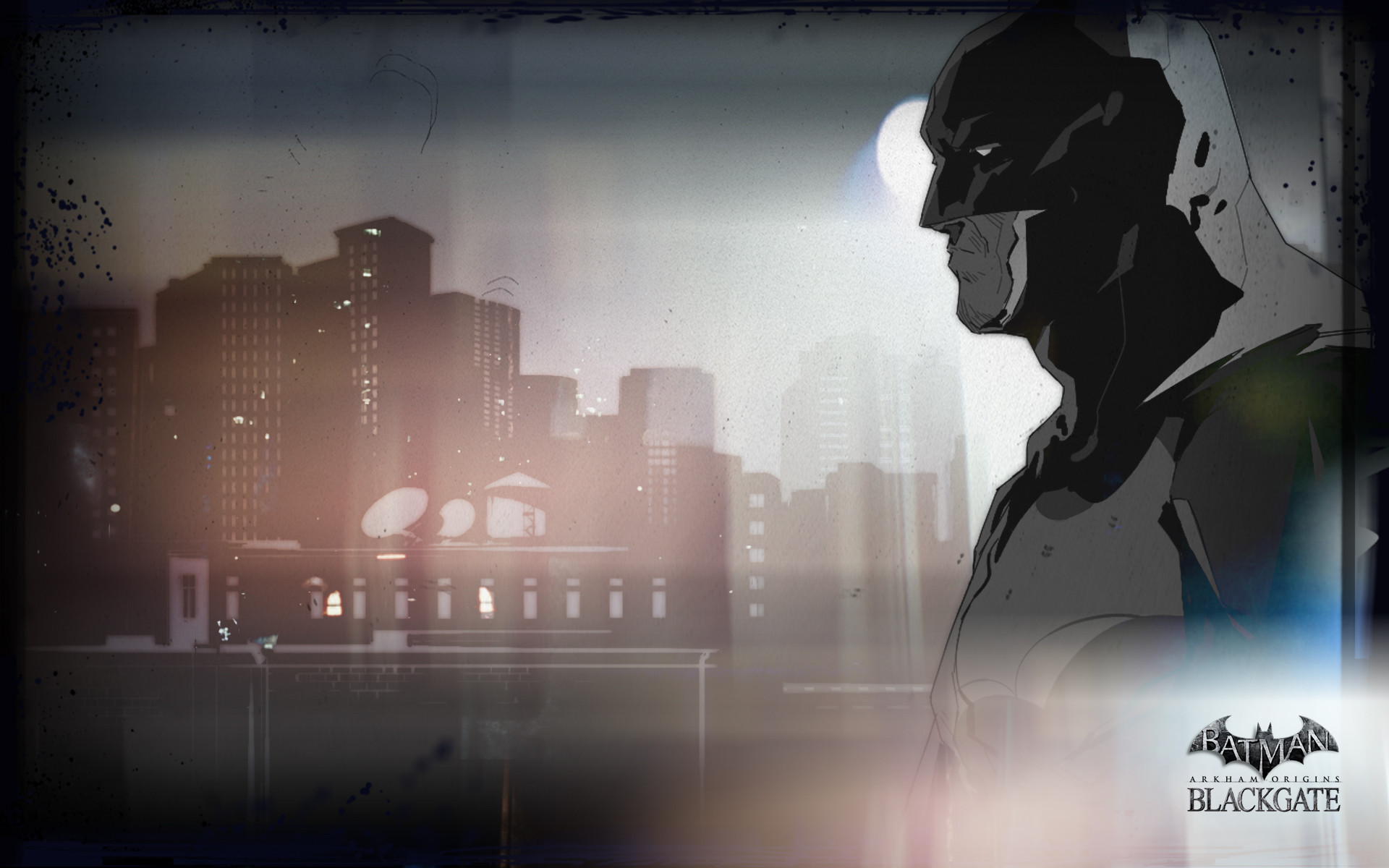 1920x1200 Armature Studios Releases Slick New Batman: Arkham Origins - Blackgate  Wallpaper