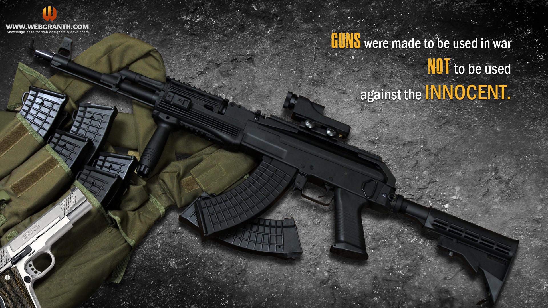 Cool Gun Wallpapers (62+ Images