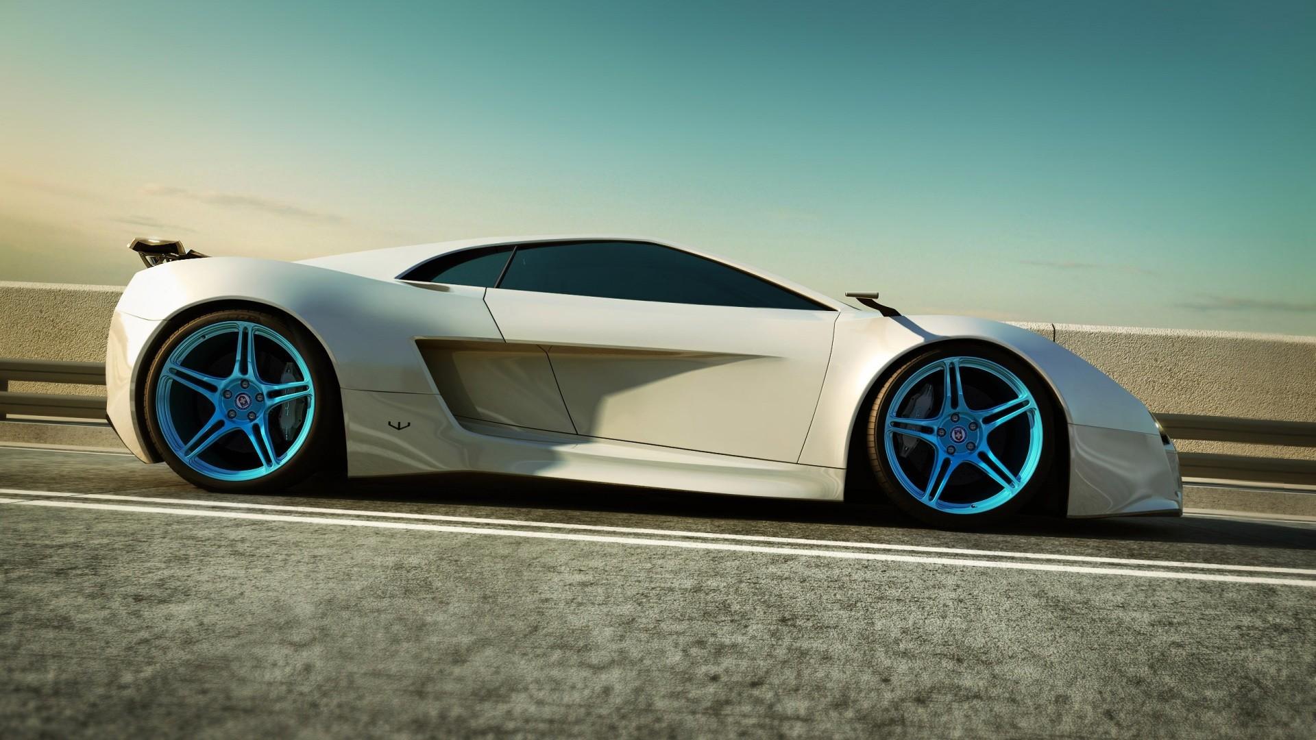 1920x1080 ... White Car HD wallpaper  #18087