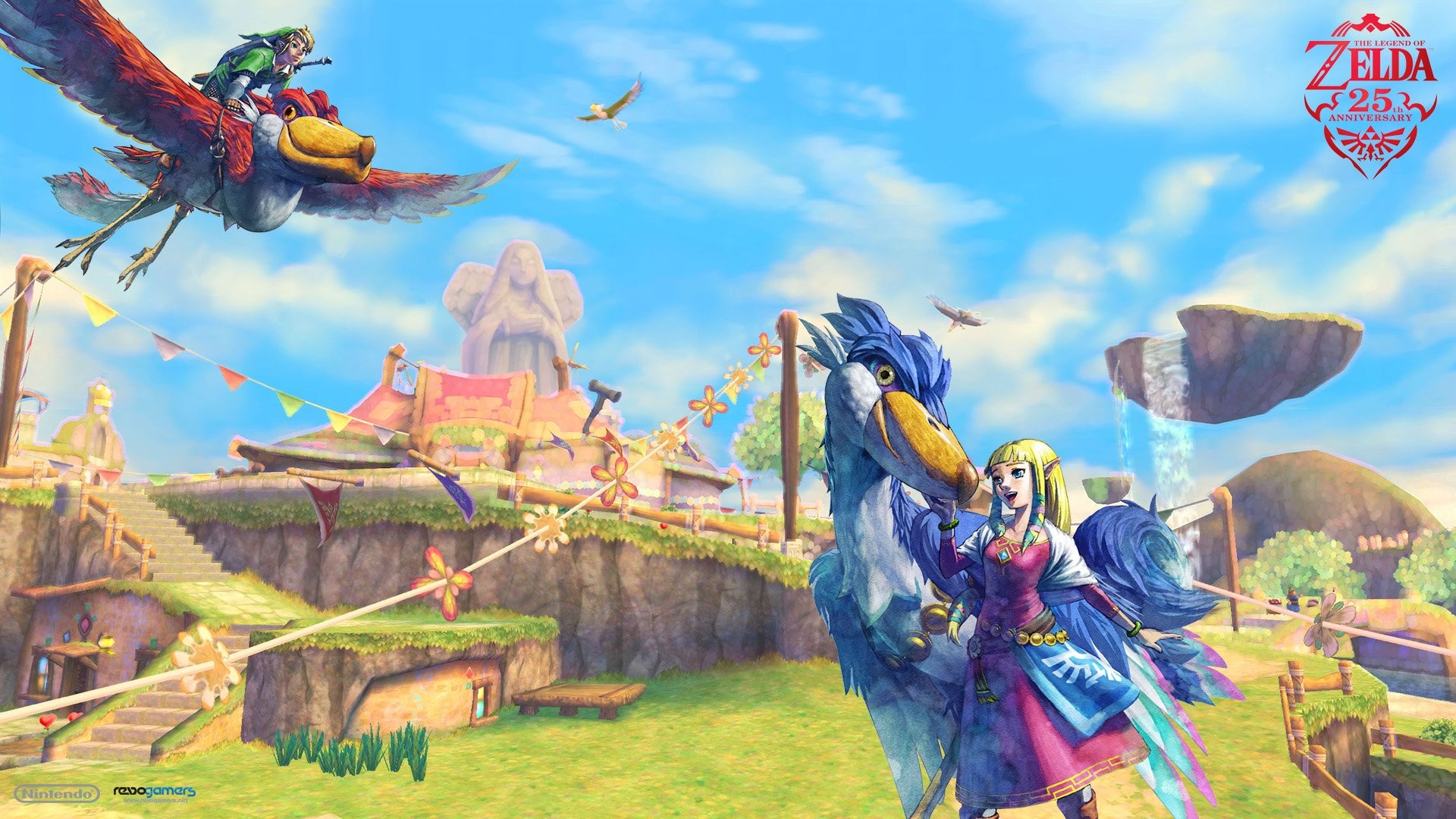 1920x1080 The Legend Of Zelda Skyward Sword Wallpaper