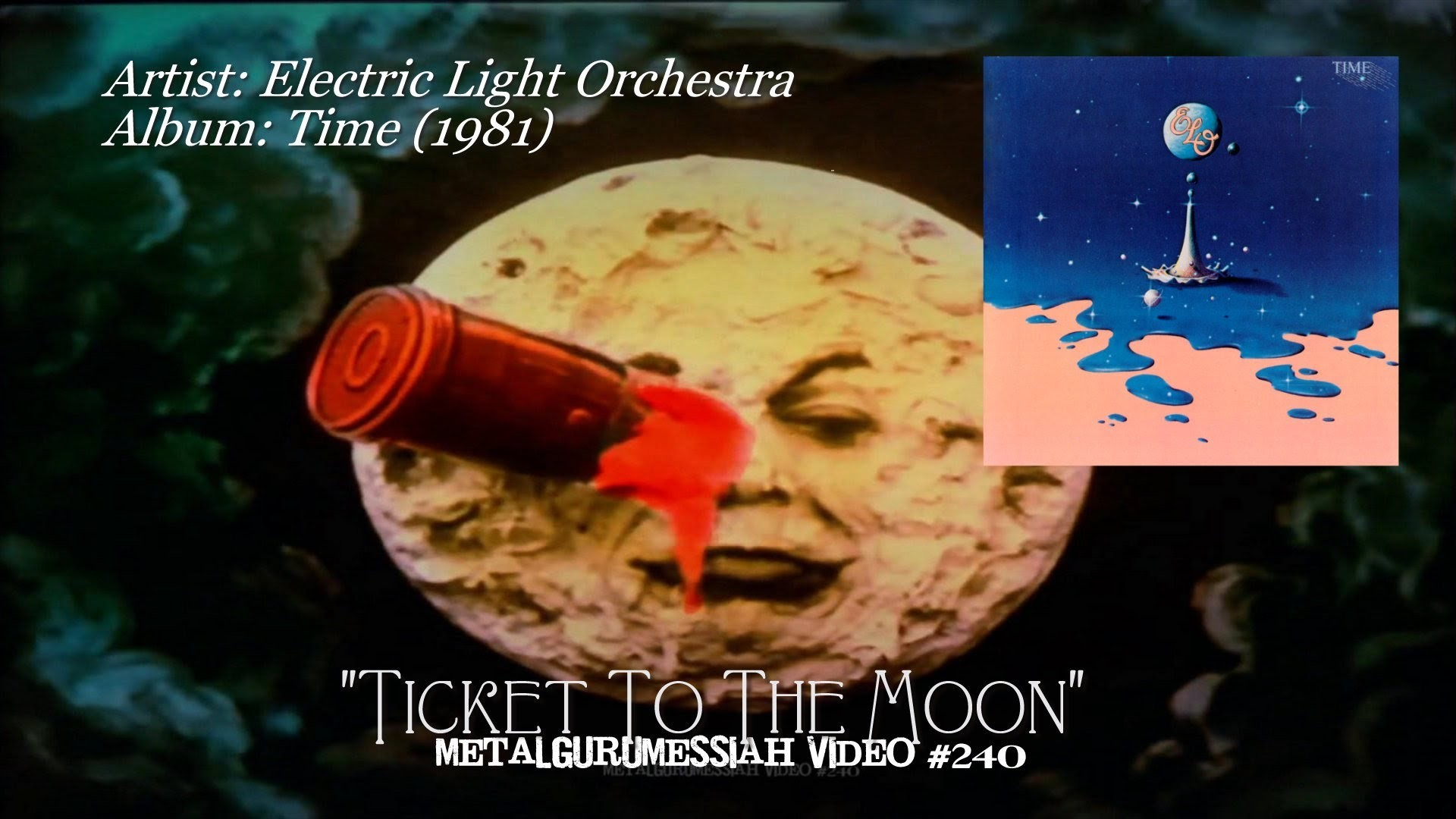 1920x1080 Ticket To The Moon - Electric Light Orchestra (1981) HD FLAC  ~MetalGuruMessiah~ - YouTube