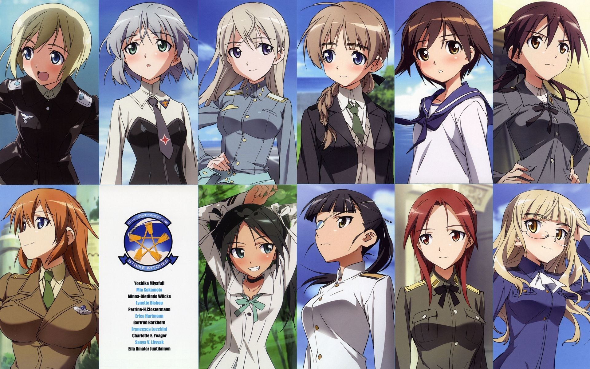 1920x1200 Strike Witches: The Movie #1