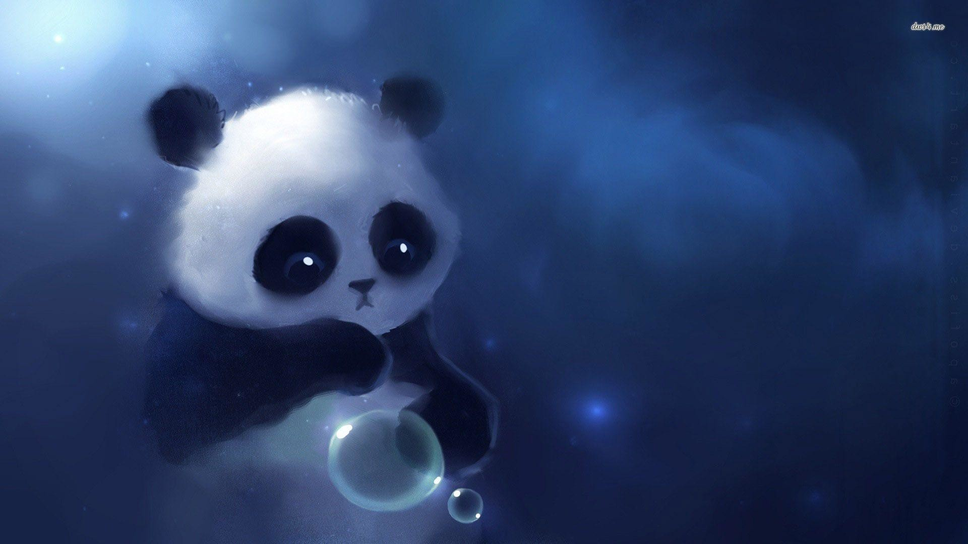 1920x1080 Cute Baby Panda Wallpapers