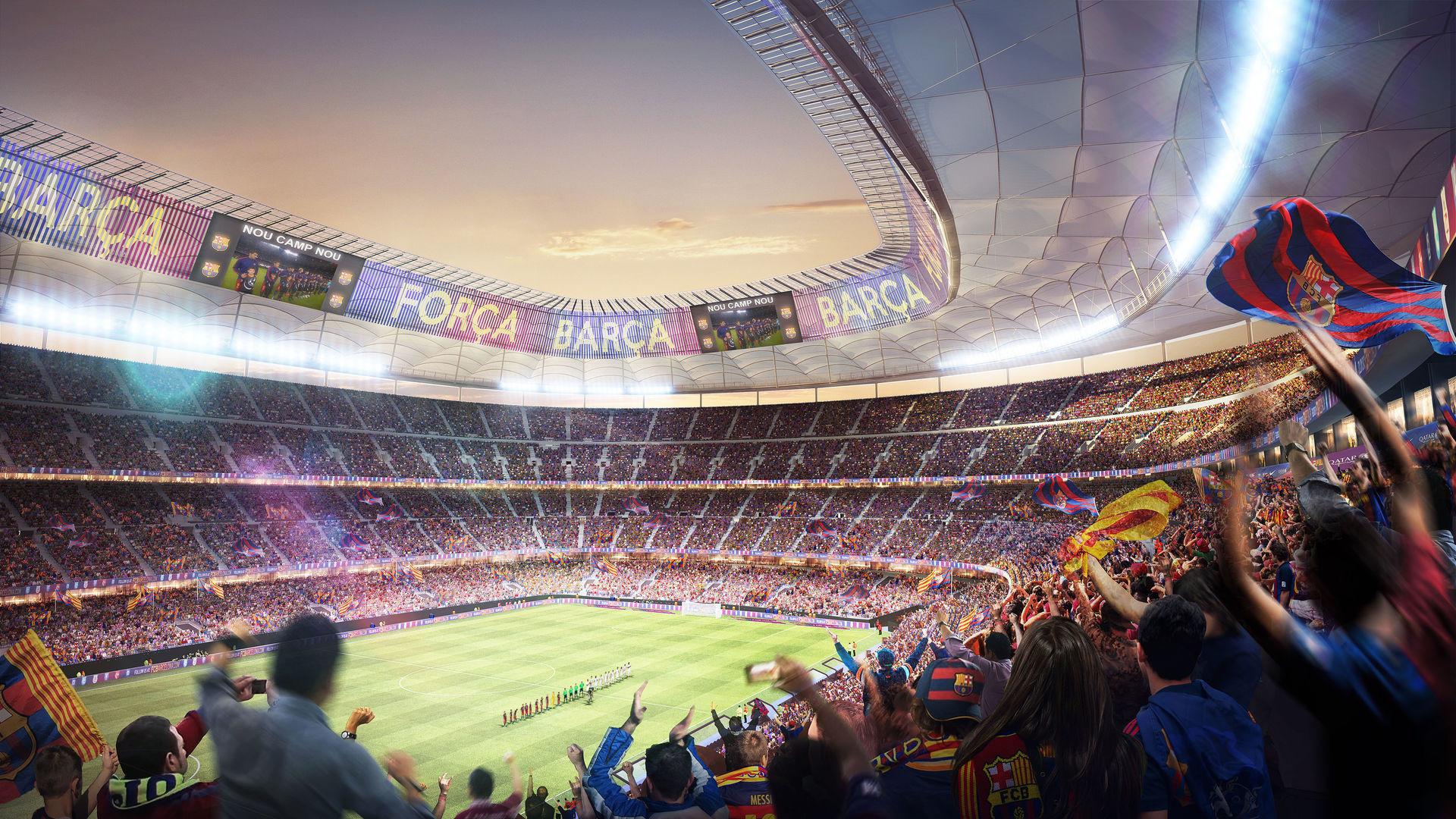 Fondos De Pantalla Camp Nou España El Fc Barcelona: Nou Camp Wallpaper (76+ Images