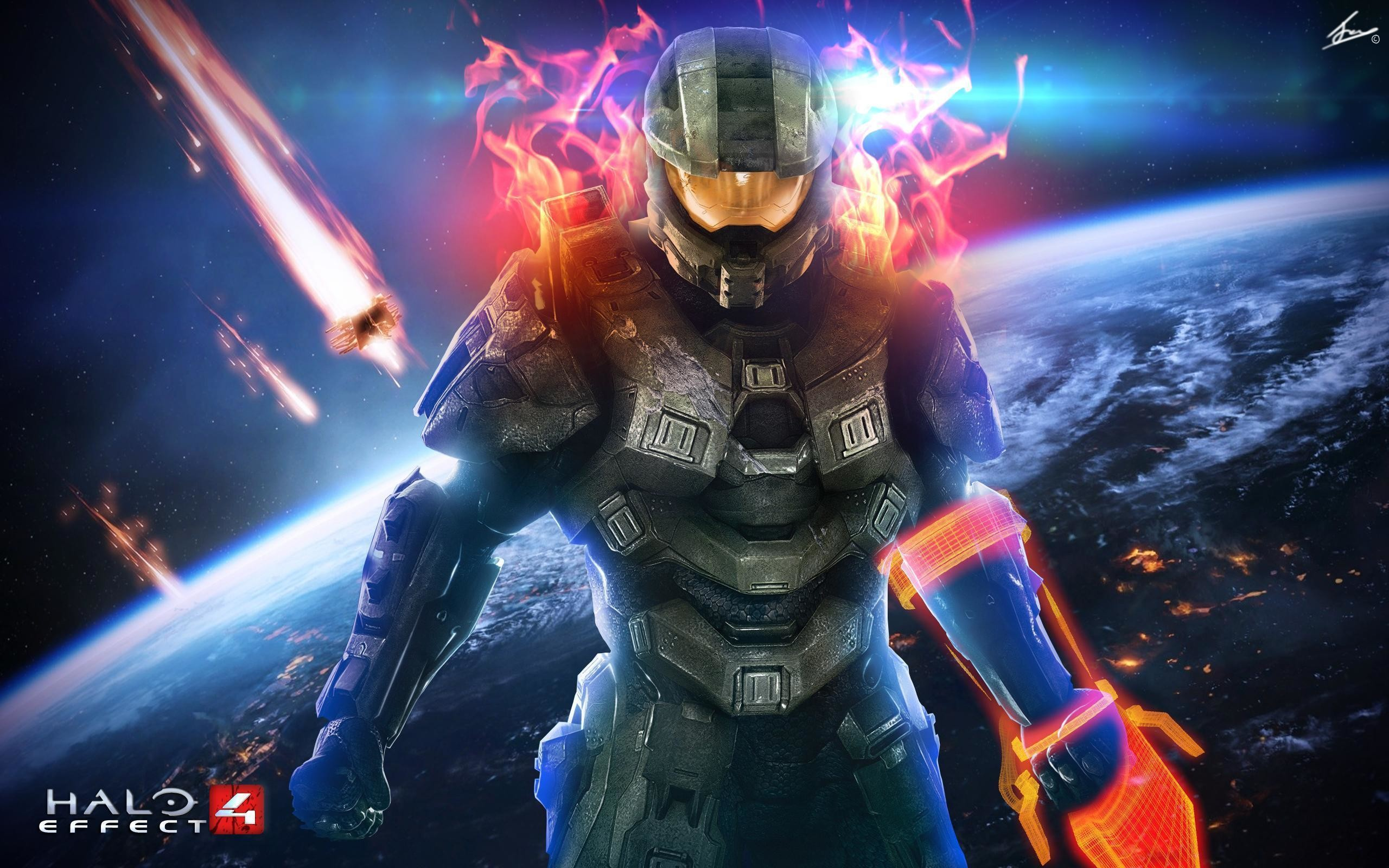 2560x1600 Images For > Awesome Halo Wallpapers