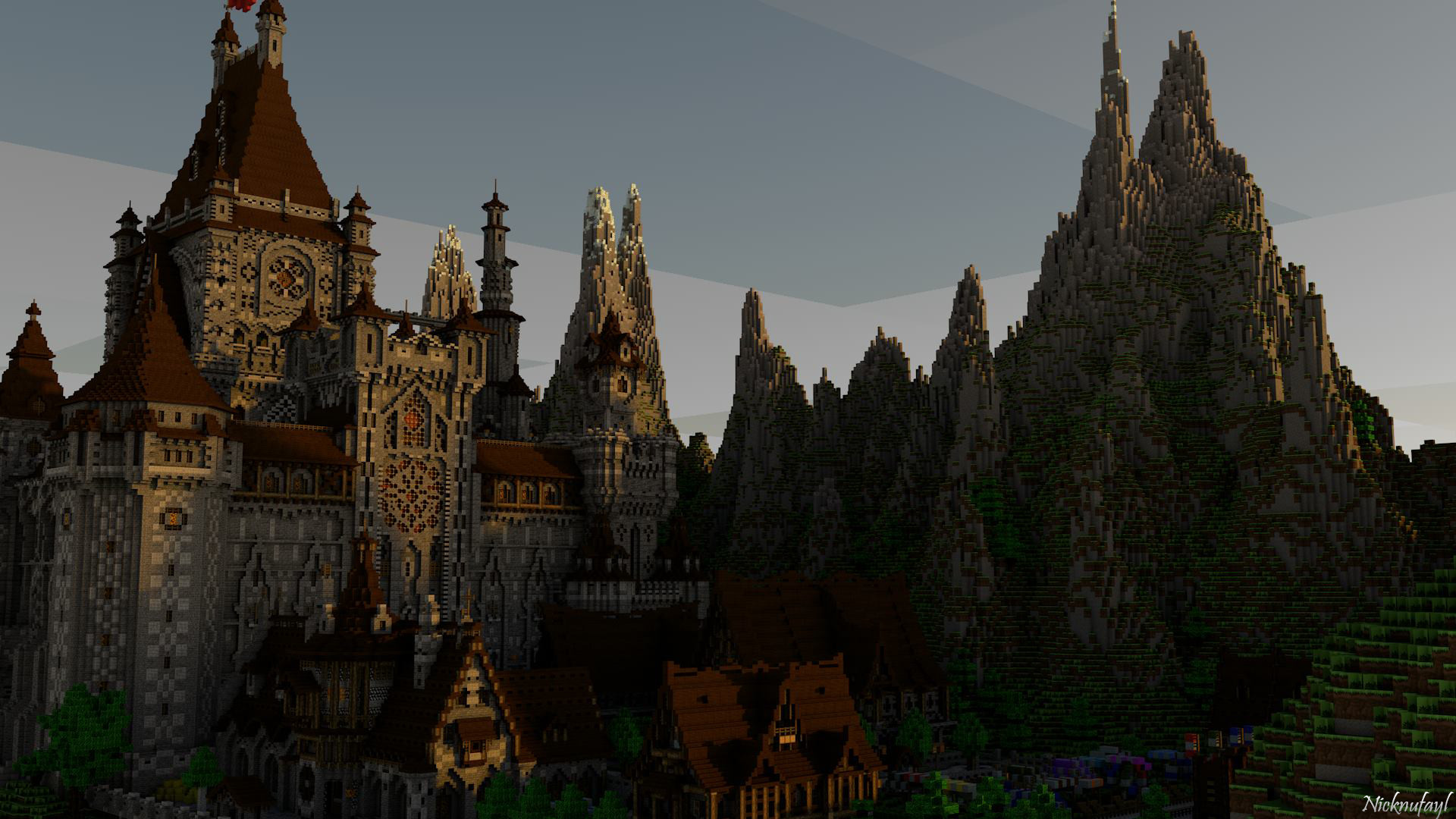 1920x1080 Minecraft Castle Wallpaper HD by Nicknufayl on DeviantArt