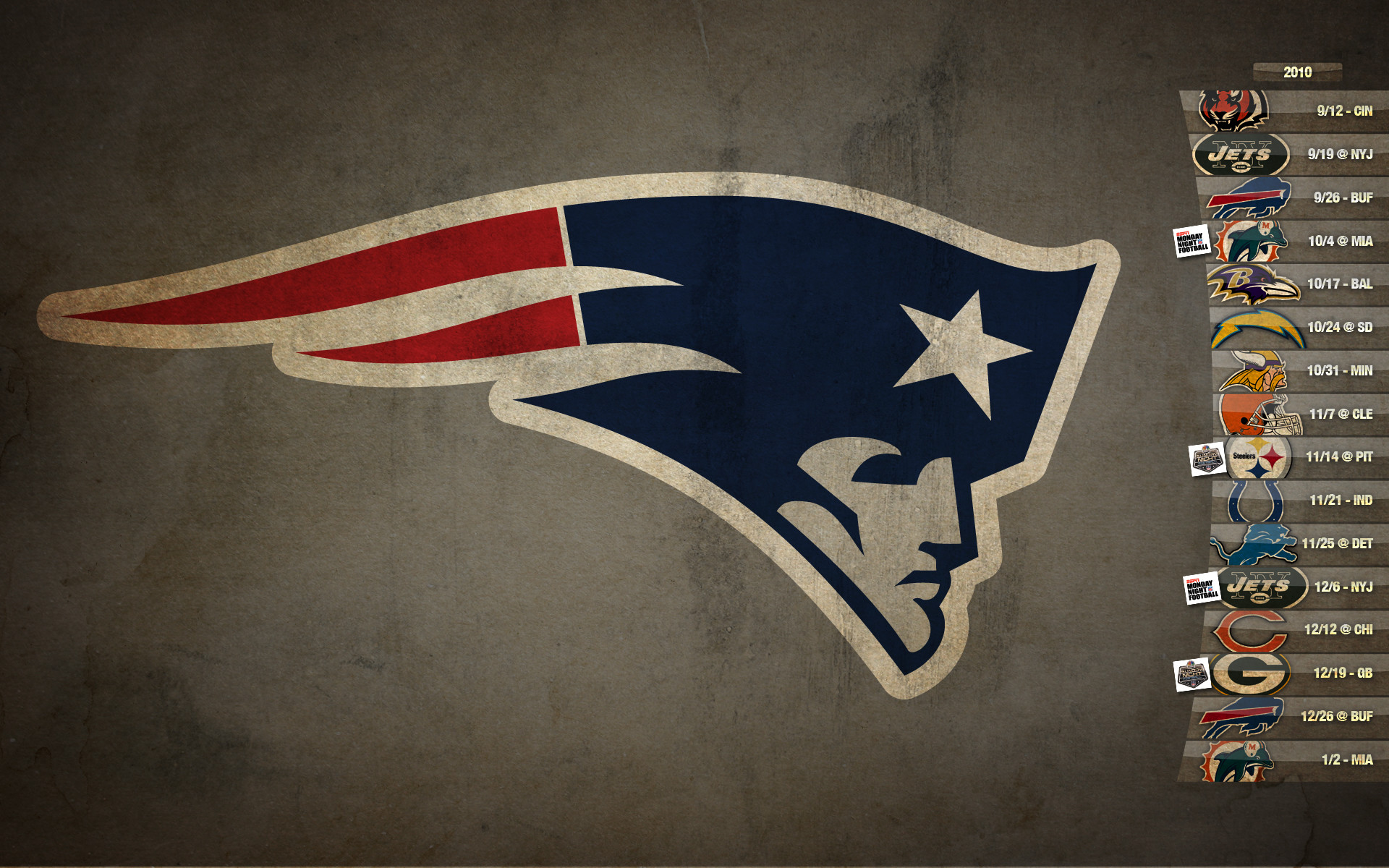 1920x1200 New England Patriots Schedule HD Desktop Wallpaper | HD Desktop