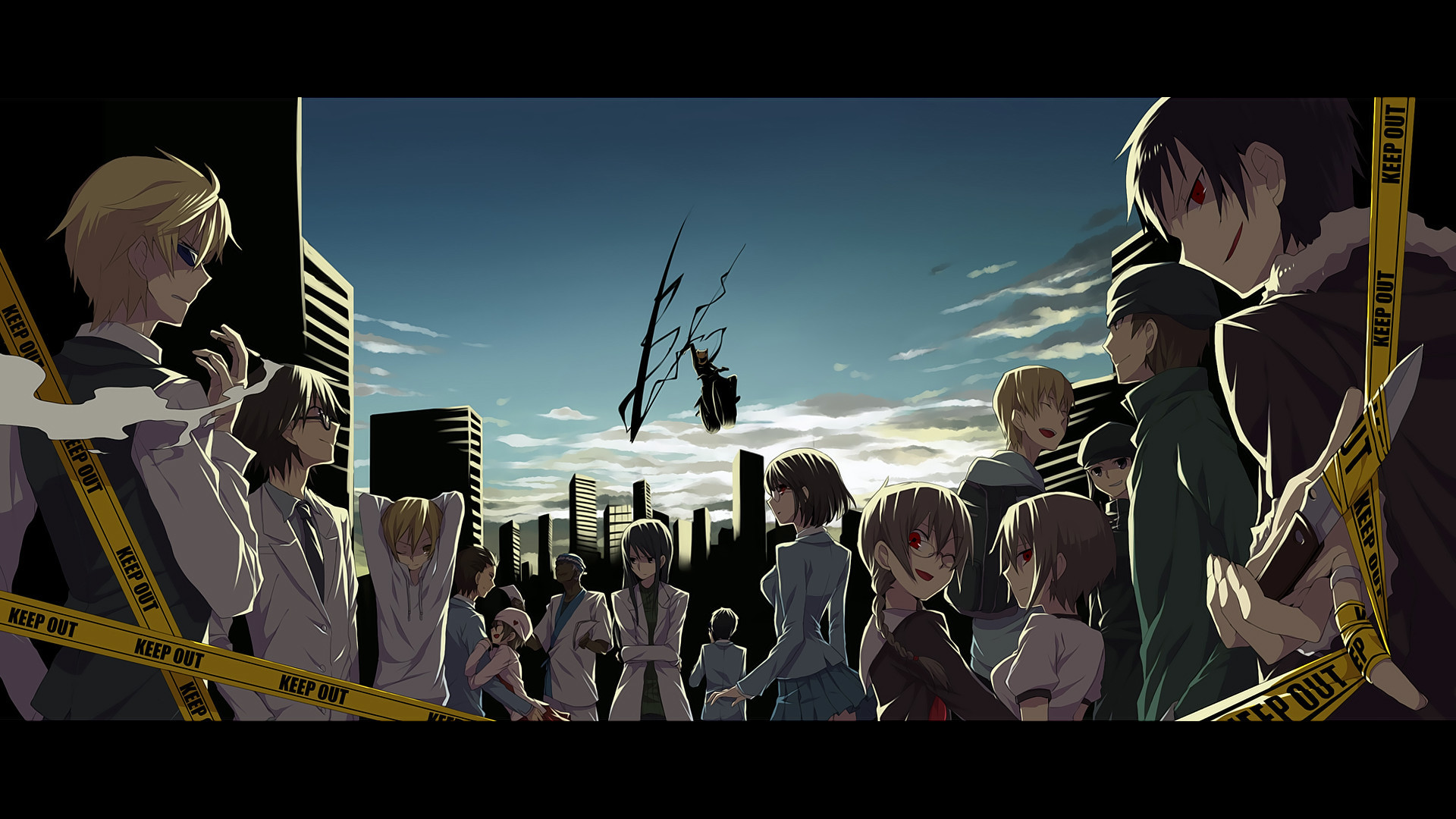 1920x1080  Anime - Durarara!! Celty Sturluson Wallpaper