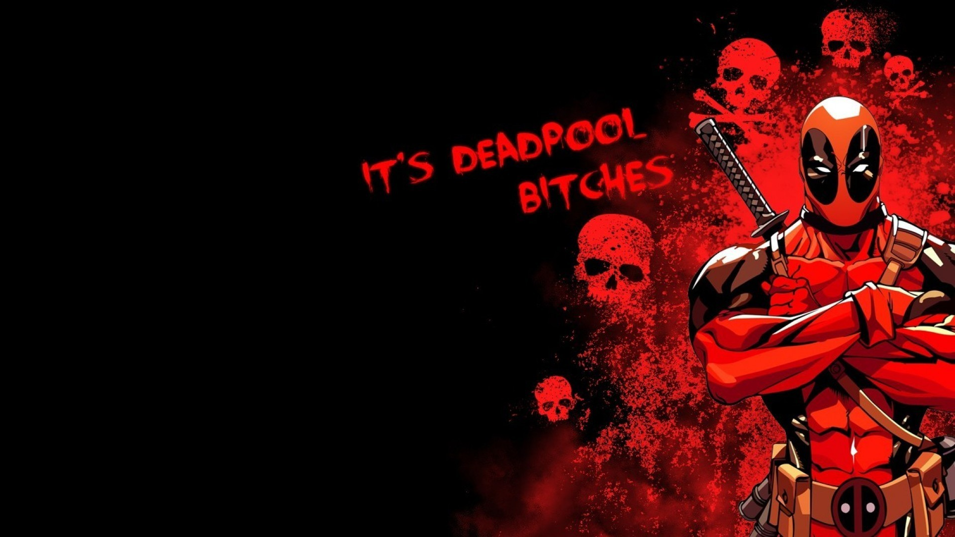 1920x1080 Deadpool Wallpaper Free