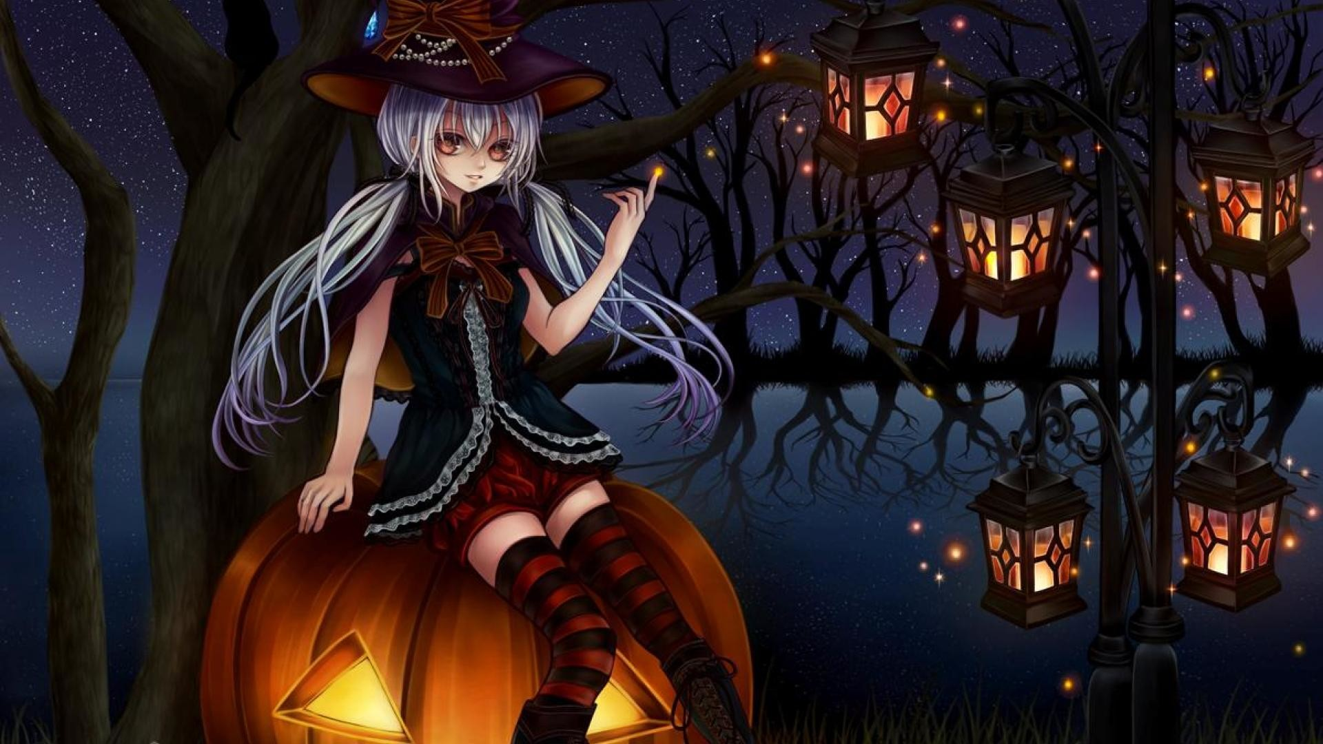 Anime Halloween Wallpaper 54 Images