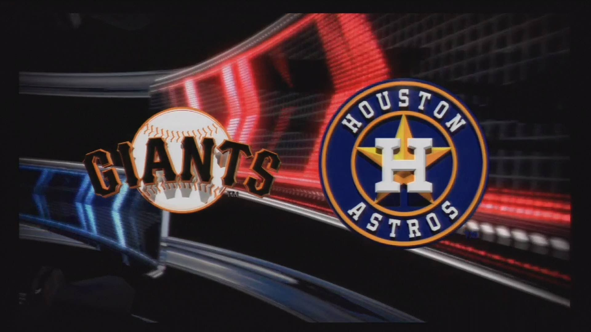 1920x1080 MLB 13 The Show Gameplay - San Francisco Giants at Houston Astros - 1 Inning