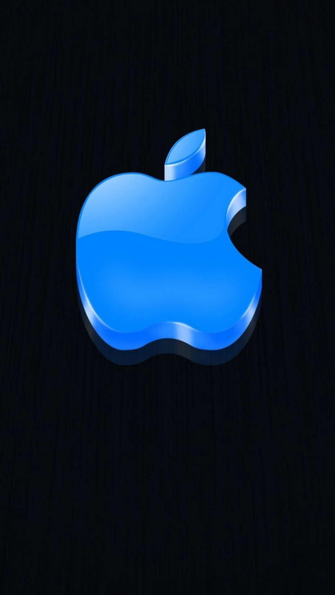 1080x1920 Click here to download  pixel 3D Glossy Blue Apple Logo Galaxy  Note HD Wallpaper