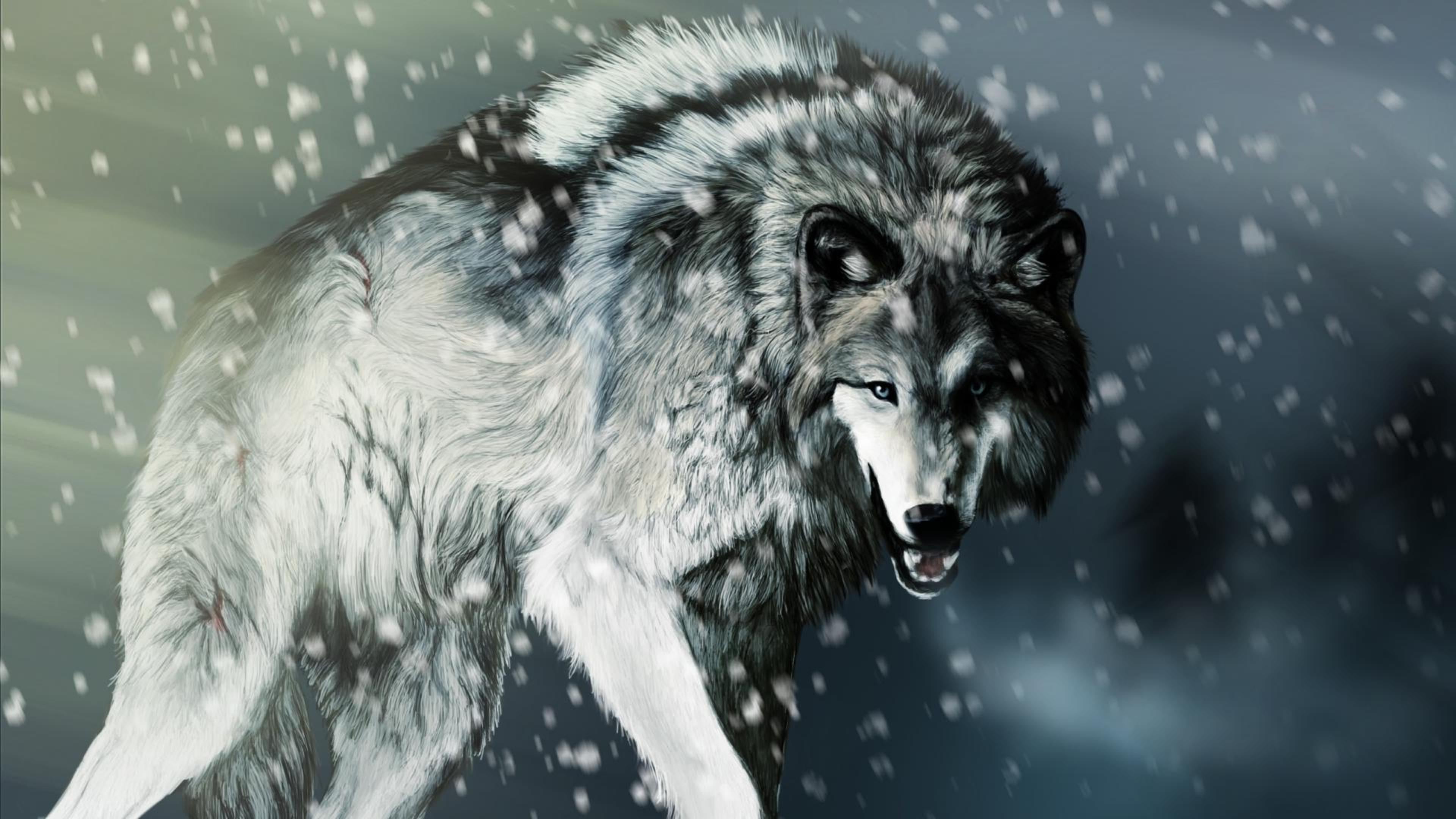 2400x1696 Anime Wolf Wallpapers Desktop Cool Pics Hd