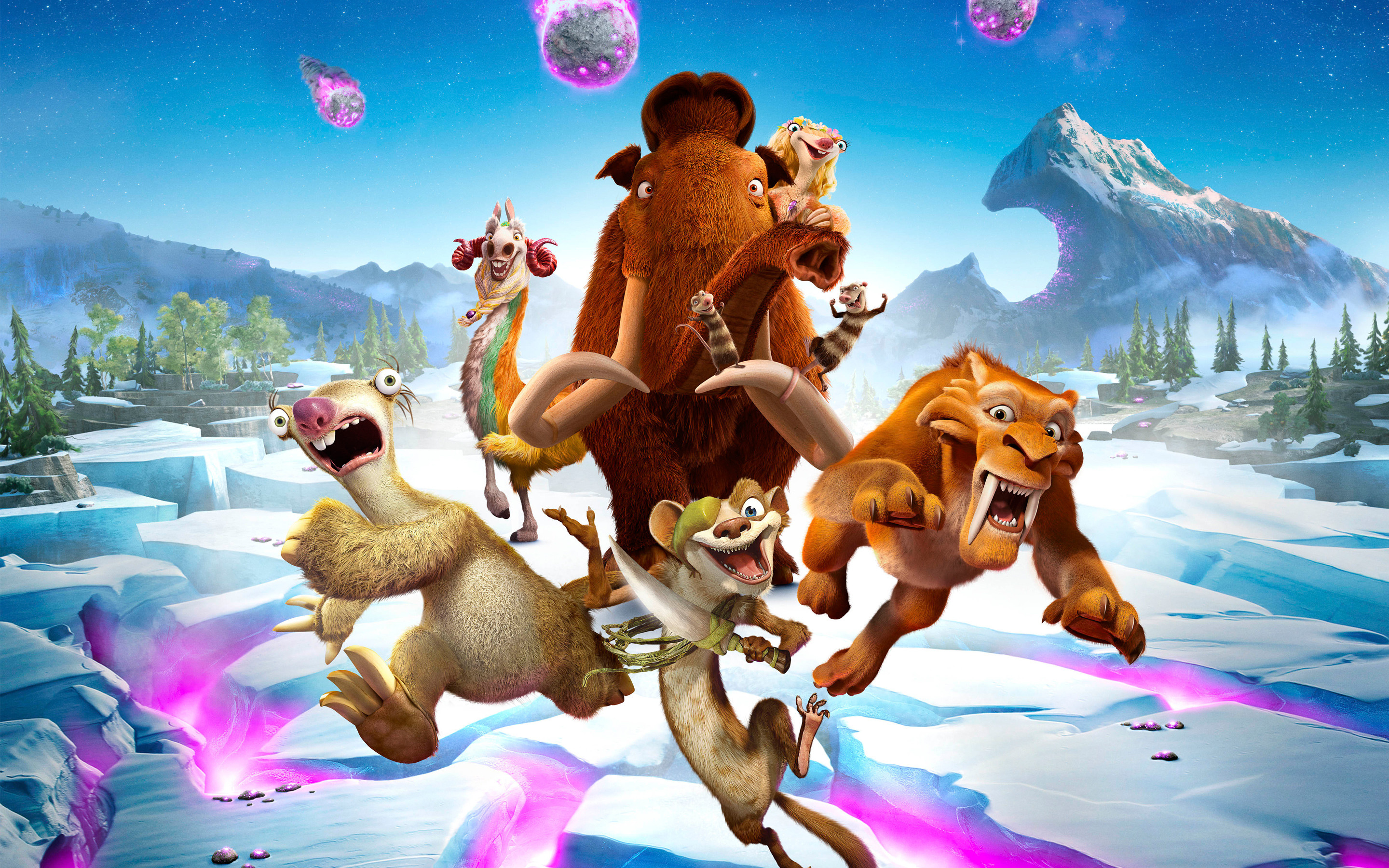 2880x1800 Ice Age Collision Course 2016 Movie