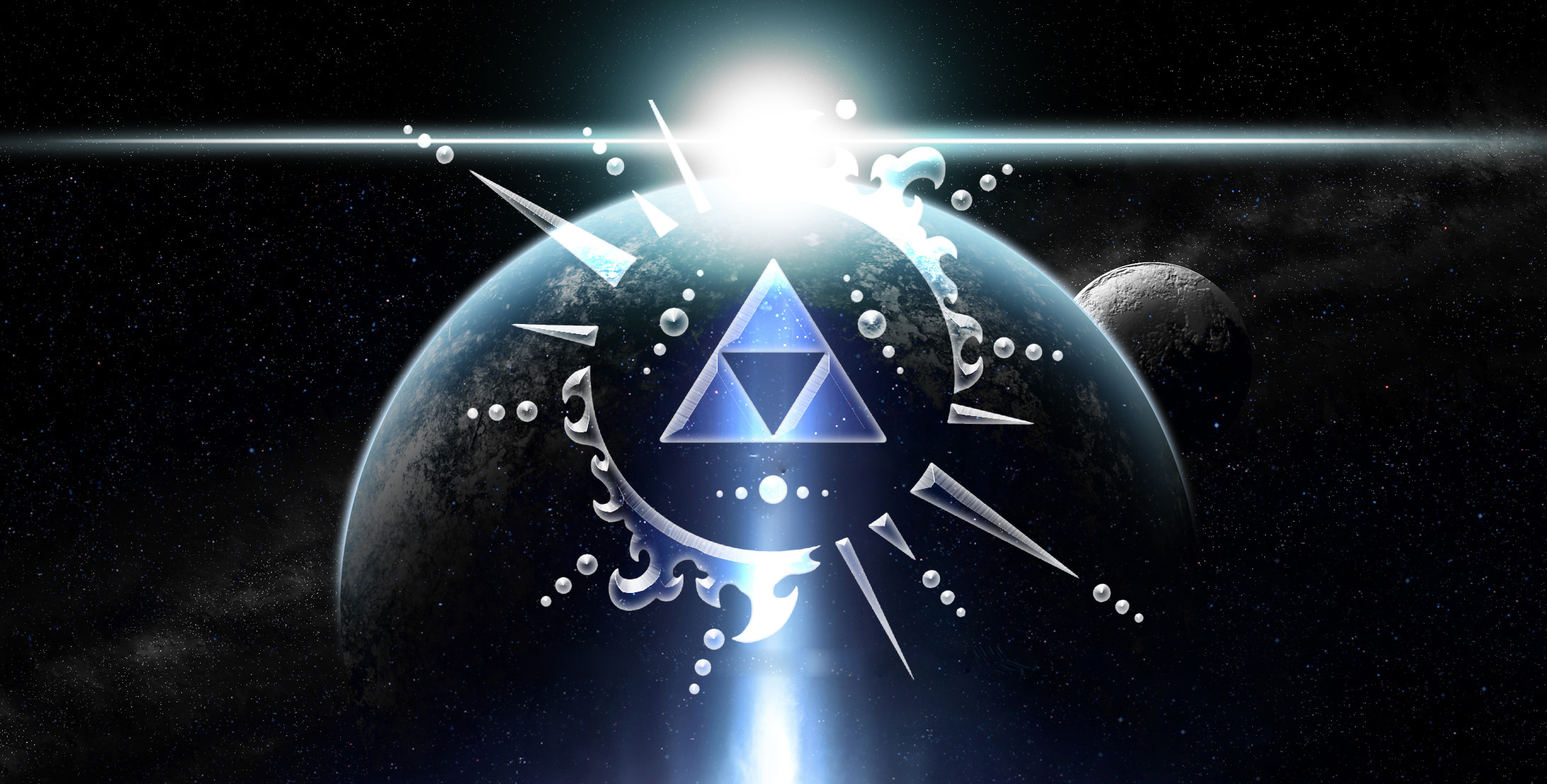 2184x1108 ...  Triforce Wallpaper by Tahu1179 on DeviantA