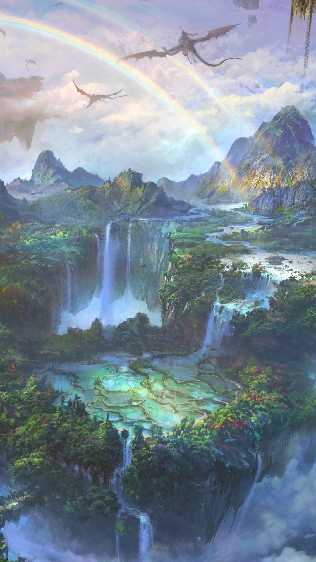 Fantasy Landscape Wallpaper (76+ Images