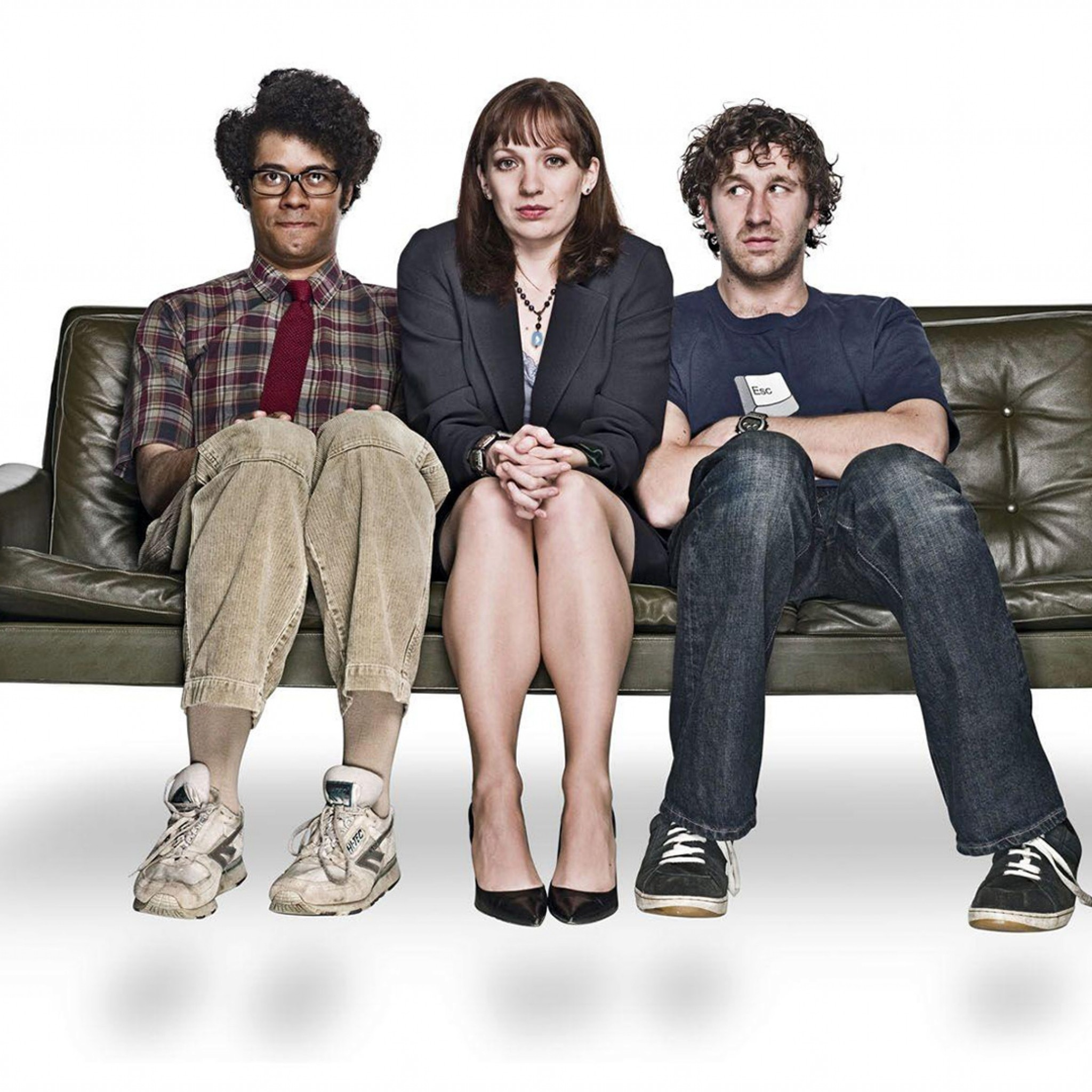 2048x2048  Wallpaper the it crowd, richard ayoade, katherine parkinson