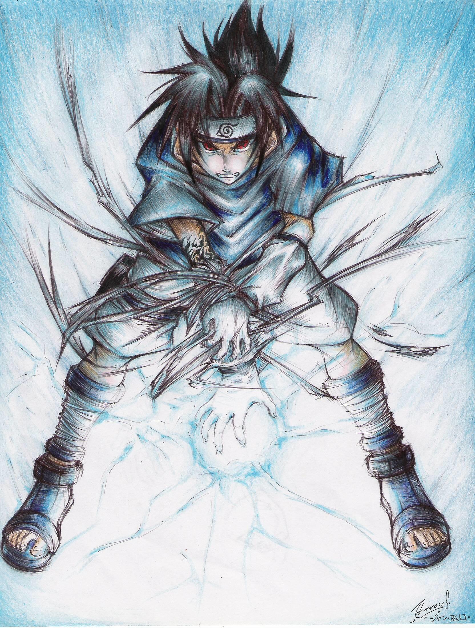 Sasuke Uchiha Chidori Wallpaper 57 Images