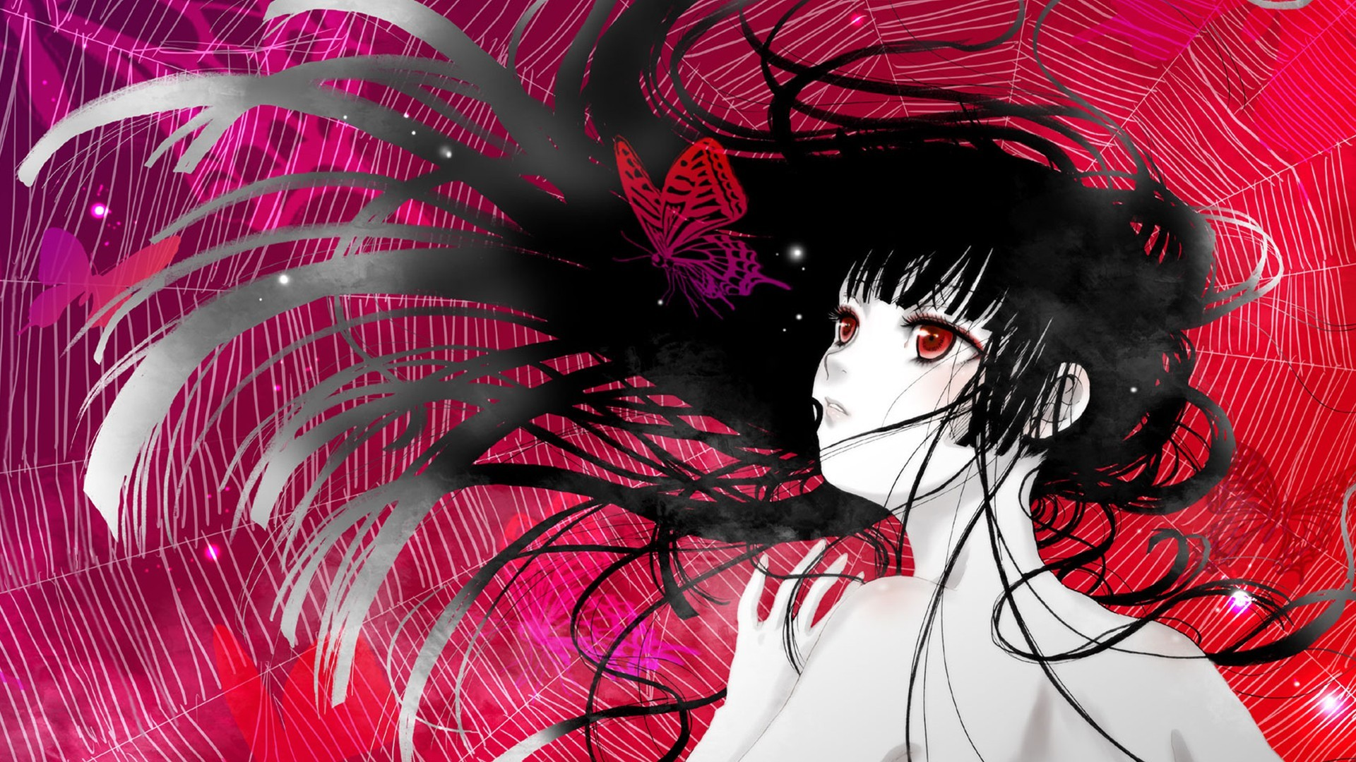 1920x1080 Jigoku Shoujo Wallpaper by kidou · Hell GirlHd ...