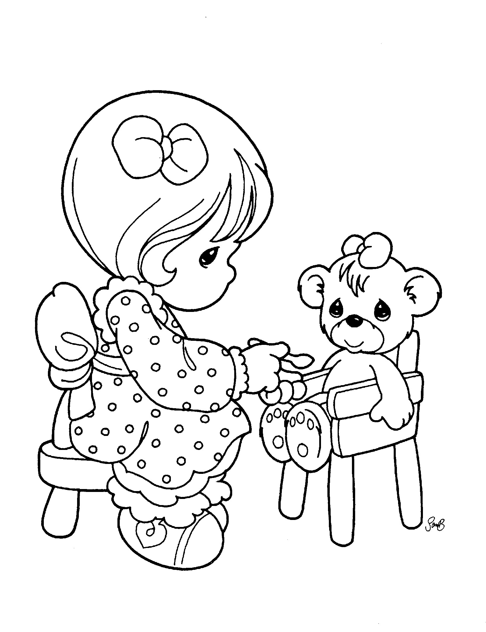 1664x2166 Drawing Precious Moments Coloring Pages 70 On With