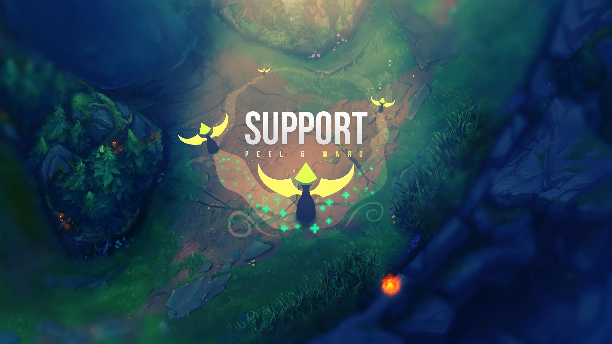 2560x1440 Support Wallpaper + album - League of Legends by Aynoe on DeviantArt