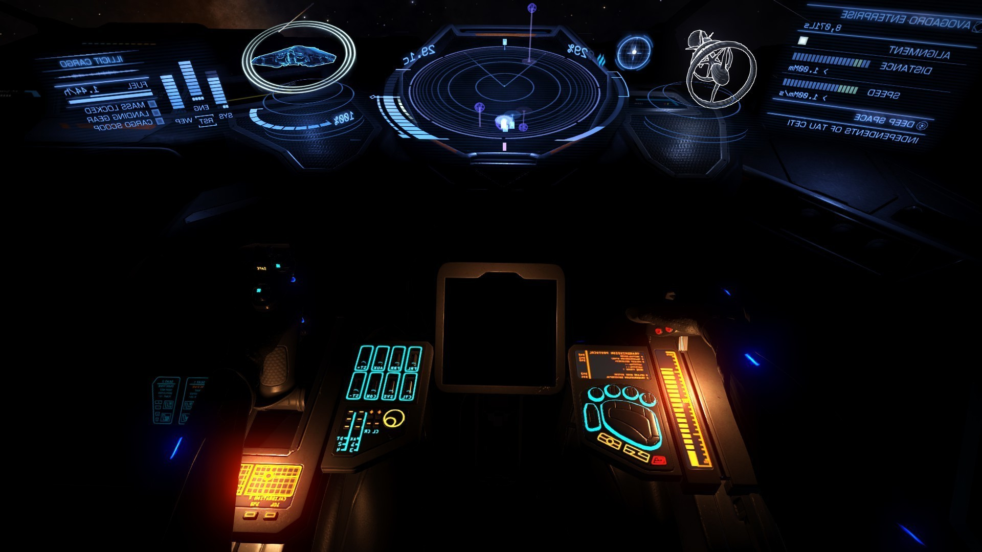 1920x1080 Elite: Dangerous, Video Games, Space, Exploration, First Person, Cockpit Wallpapers  HD / Desktop and Mobile Backgrounds