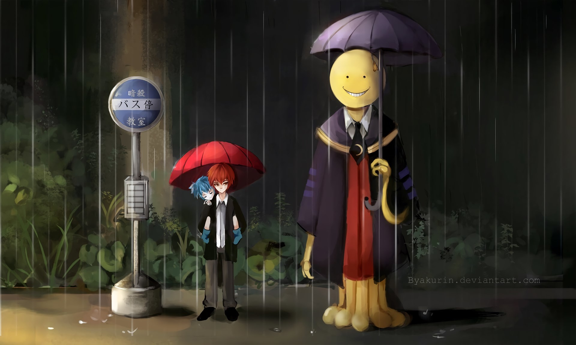 1920x1150  HQ Definition Wallpaper Desktop assassination classroom