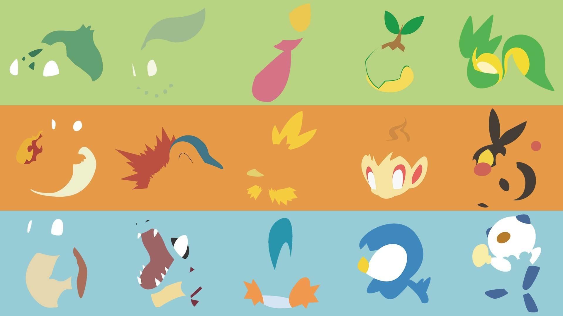 Pokemon Starters Wallpaper 74 Images