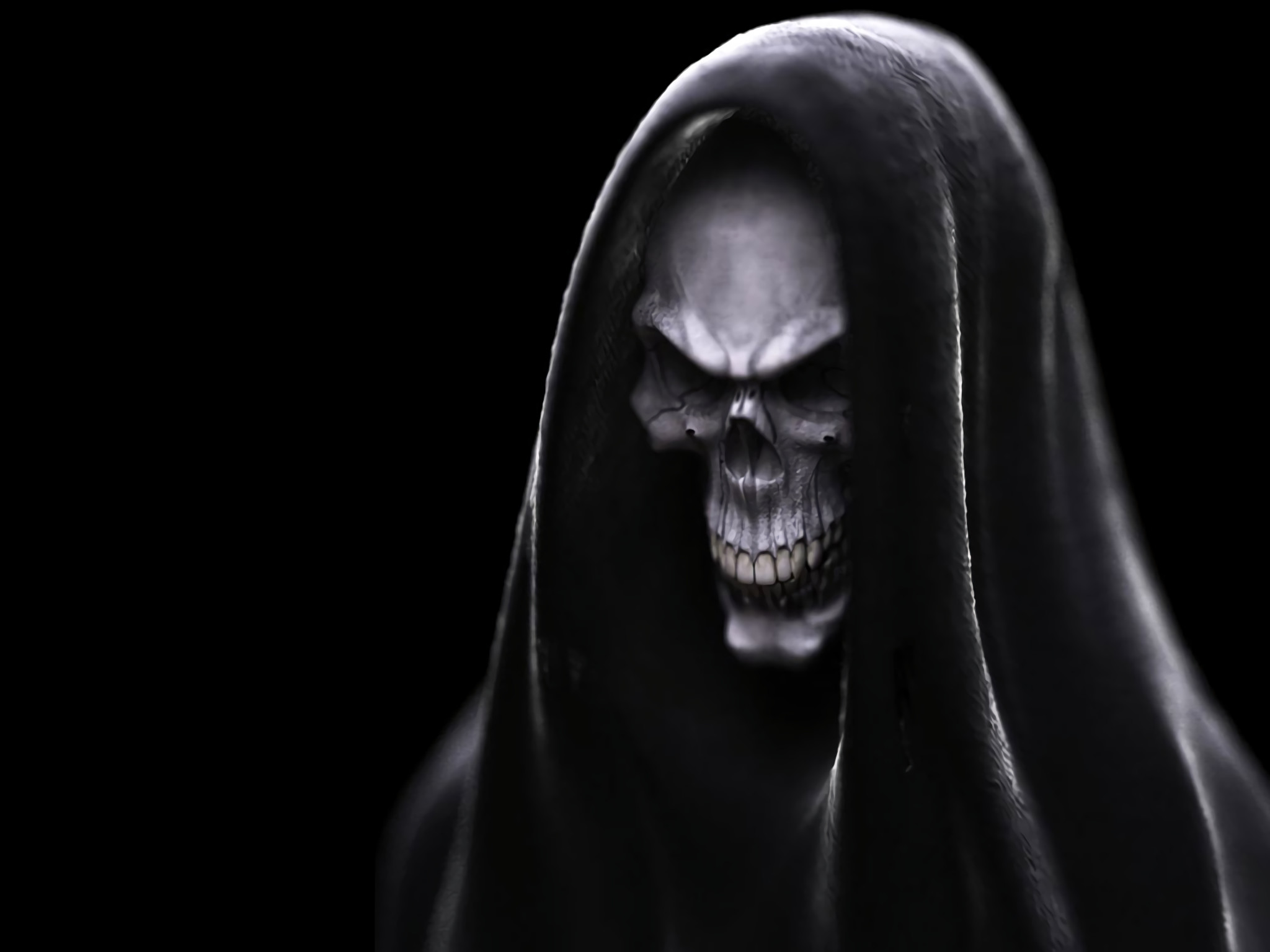 2048x1536 HD Wallpaper | Background ID:7949.  Dark Skull