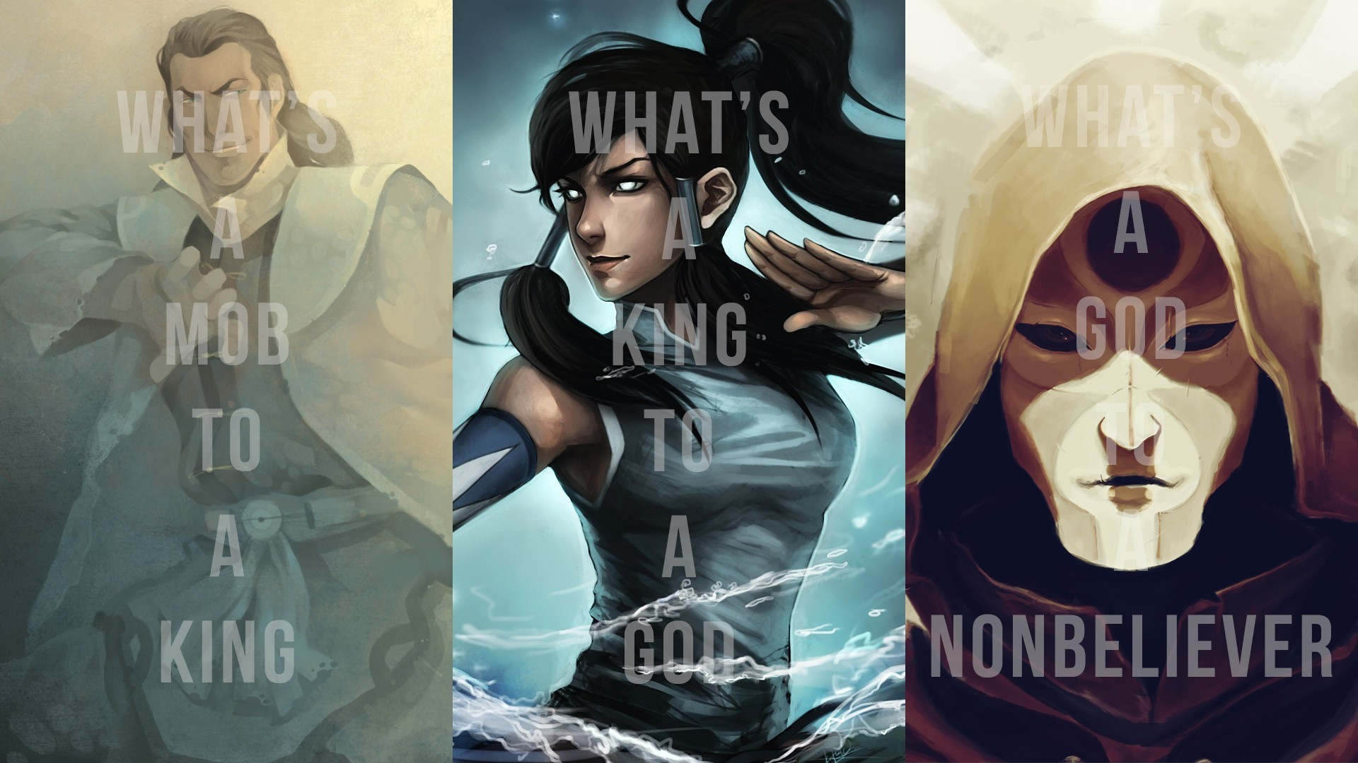 1920x1080 Korra, The Legend Of Korra, Avatar, Amon, Tarrlok Wallpapers HD / Desktop  and Mobile Backgrounds