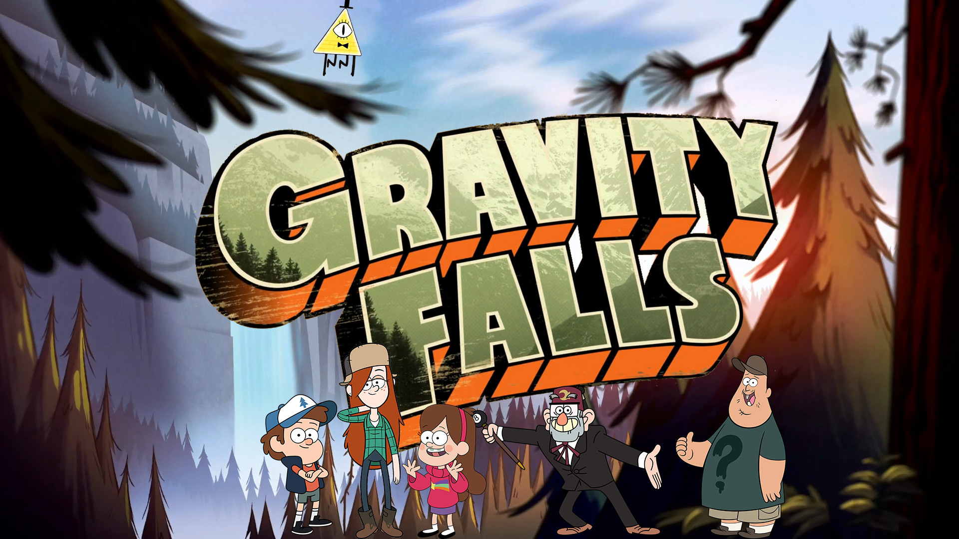1920x1080 Gravity Falls Wallpaper by moechtegernkuenstler Gravity Falls Wallpaper by  moechtegernkuenstler