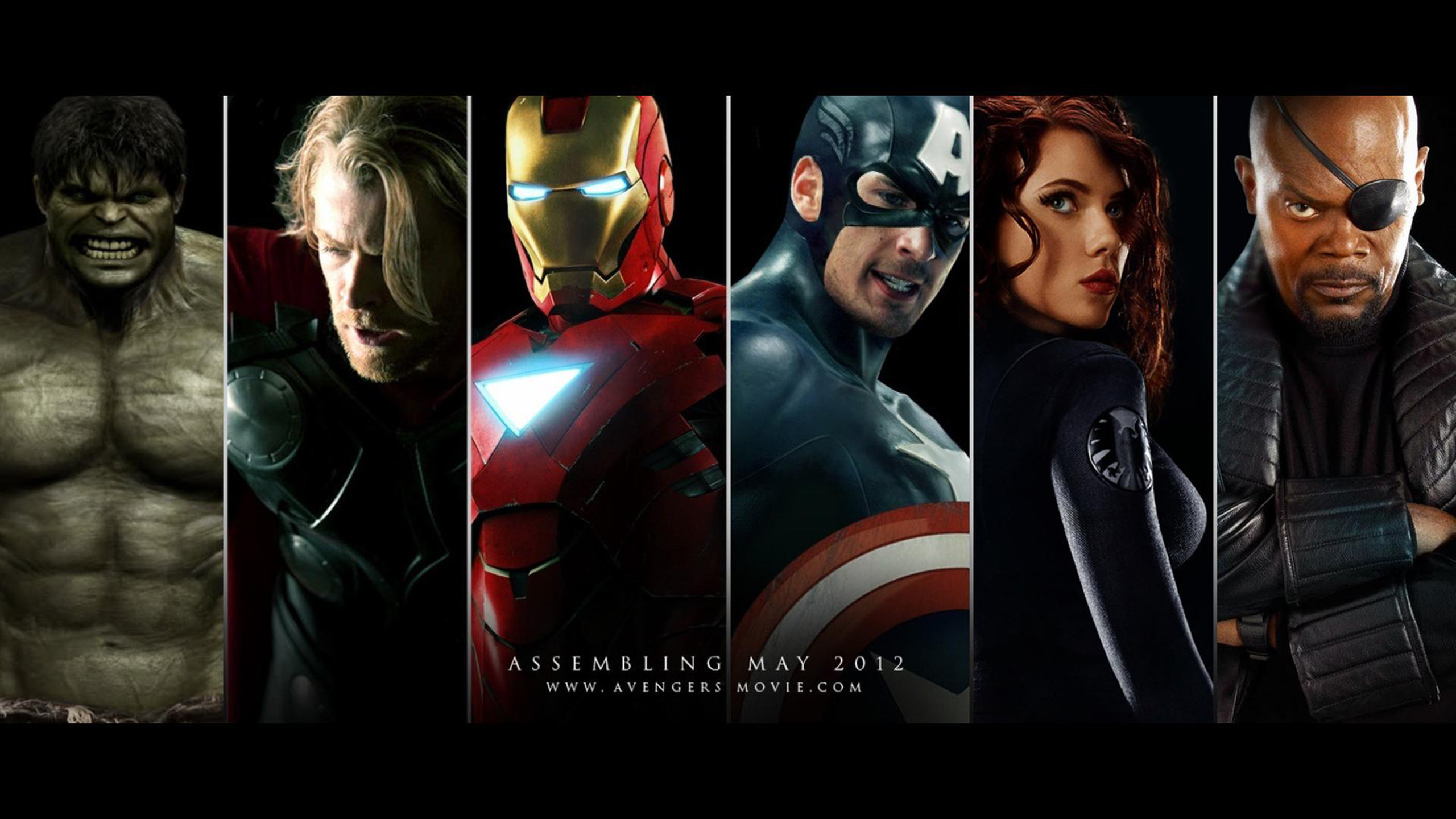 2560x1440 ZoomView · The Avengers