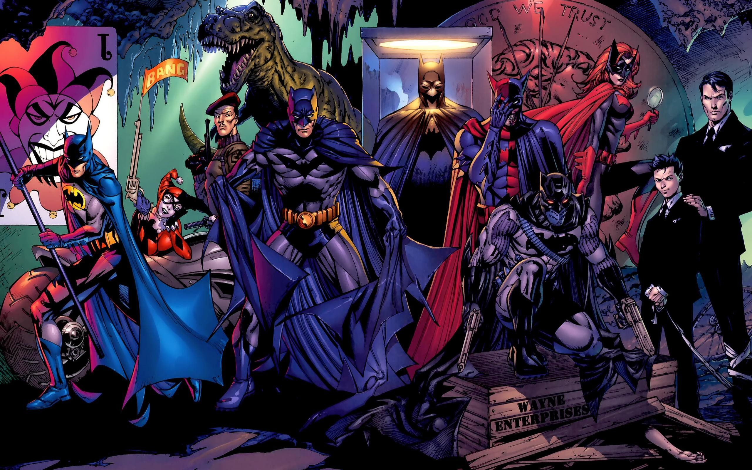 2560x1600 Batman DC Wallpaper  Batman, DC, Comics, Harley, Quinn .